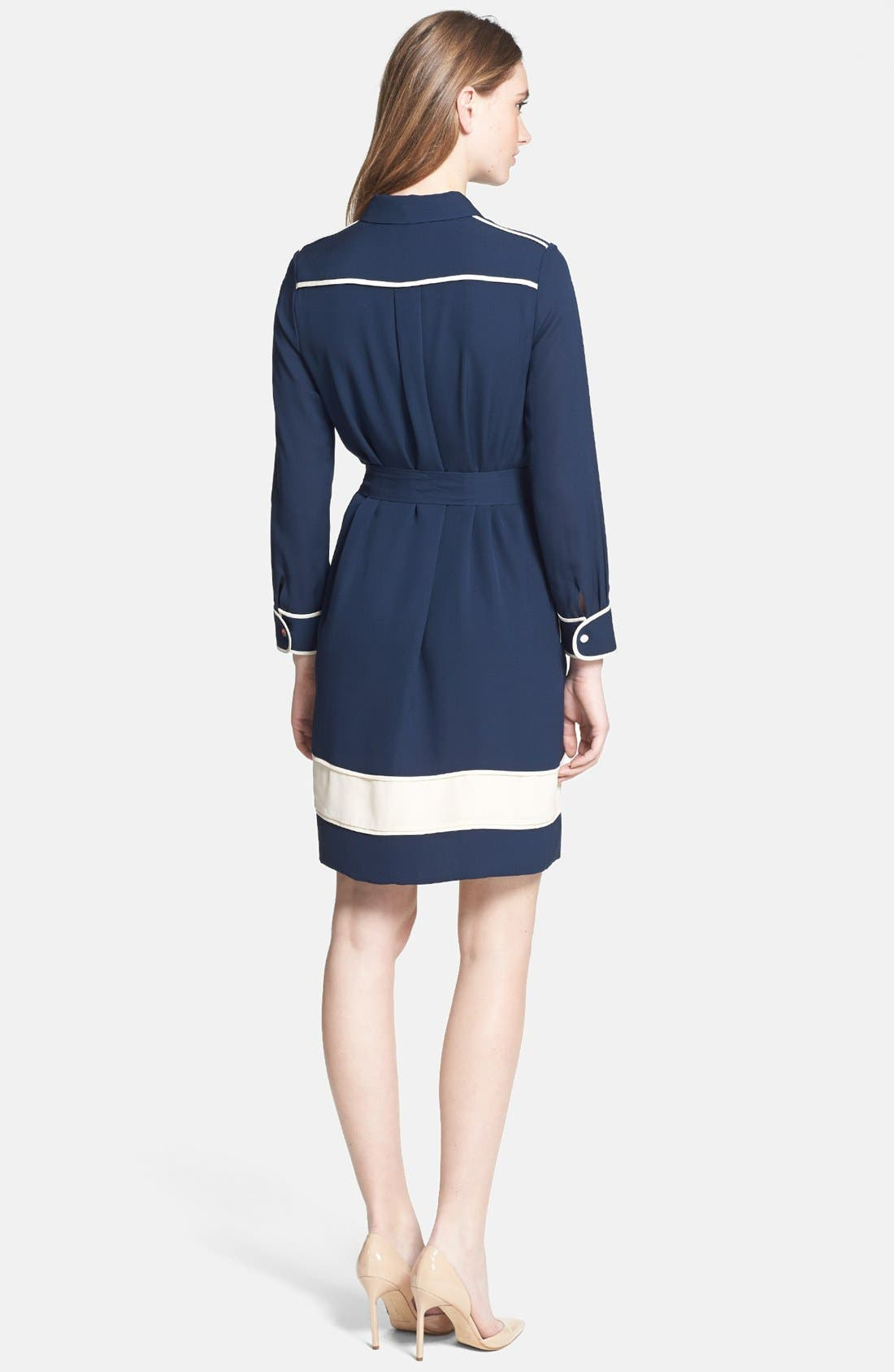 Alternate Image 3  - Diane von Furstenberg 'Cadence' Silk Shirtdress