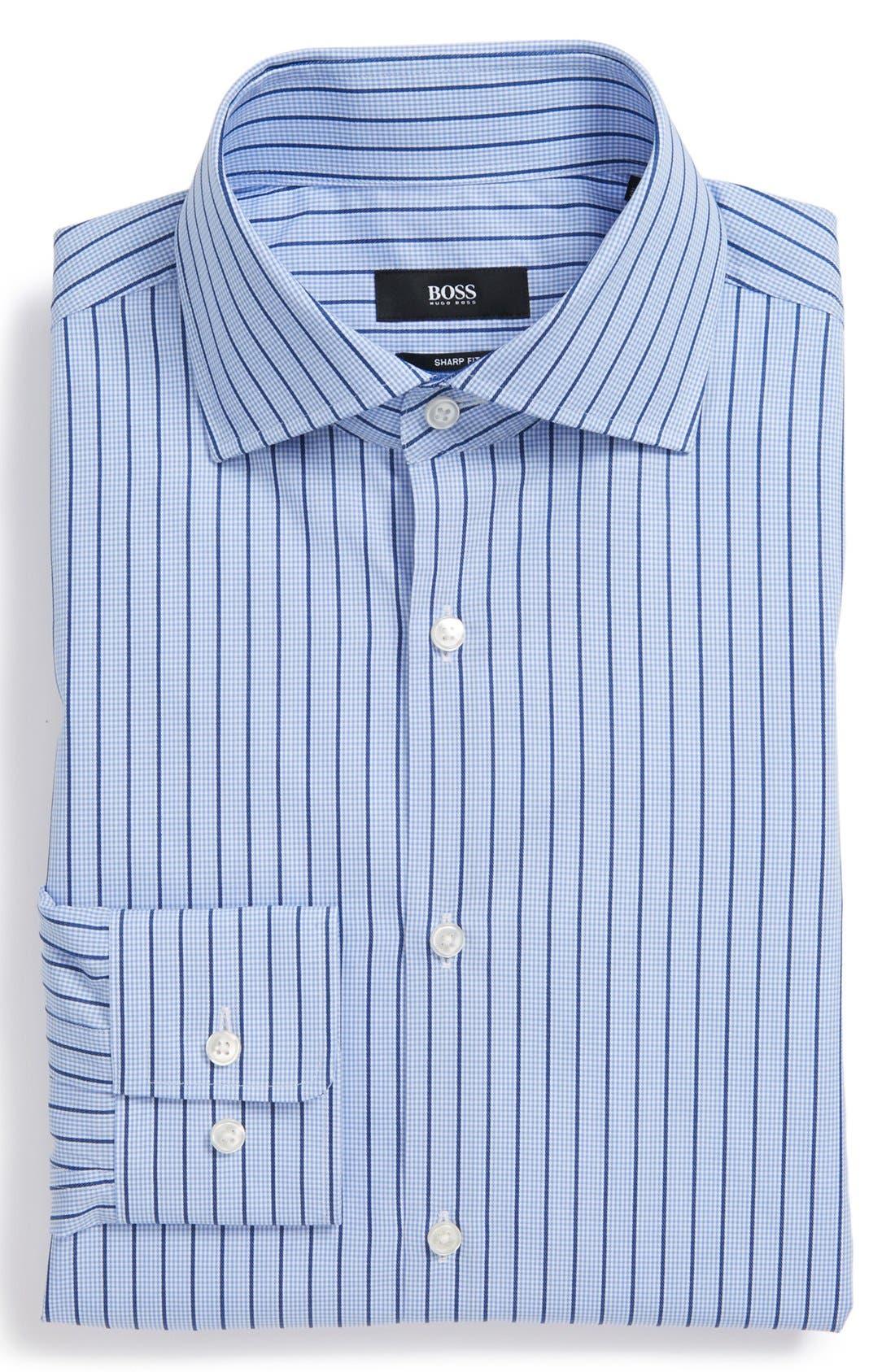 Main Image - BOSS HUGO BOSS 'Miles' Sharp Fit Dress Shirt