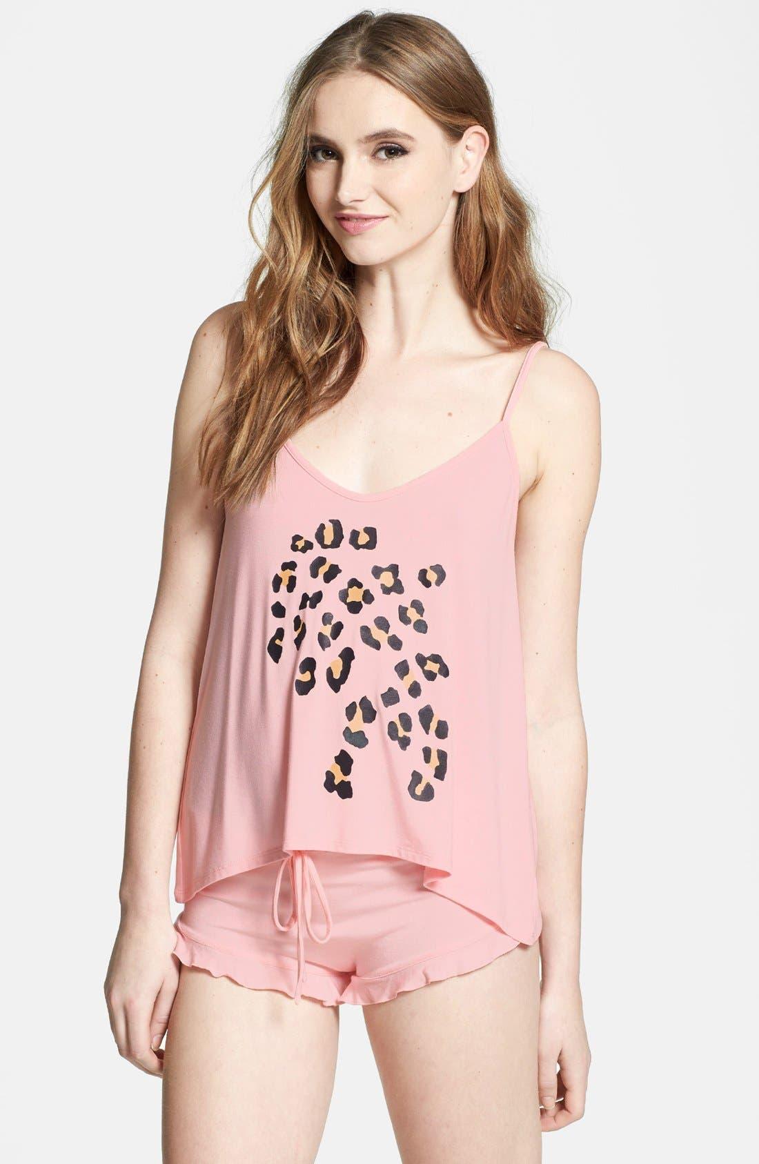 Main Image - Wildfox 'Meow' Camisole Pajamas