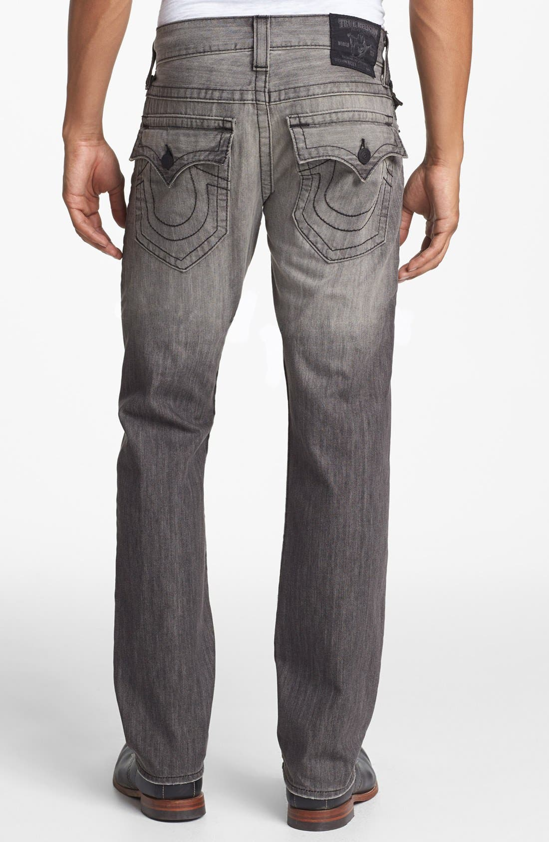 Main Image - True Religion Brand Jeans 'Ricky' Relaxed Fit Jeans (Silverwood)