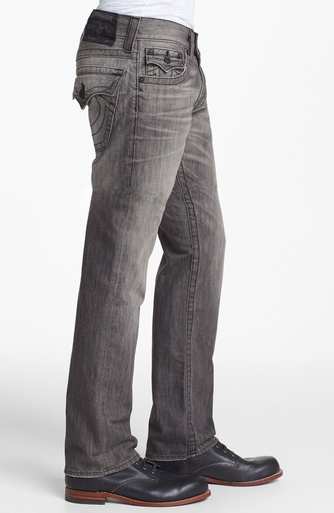 Alternate Image 3  - True Religion Brand Jeans 'Ricky' Relaxed Fit Jeans (Silverwood)
