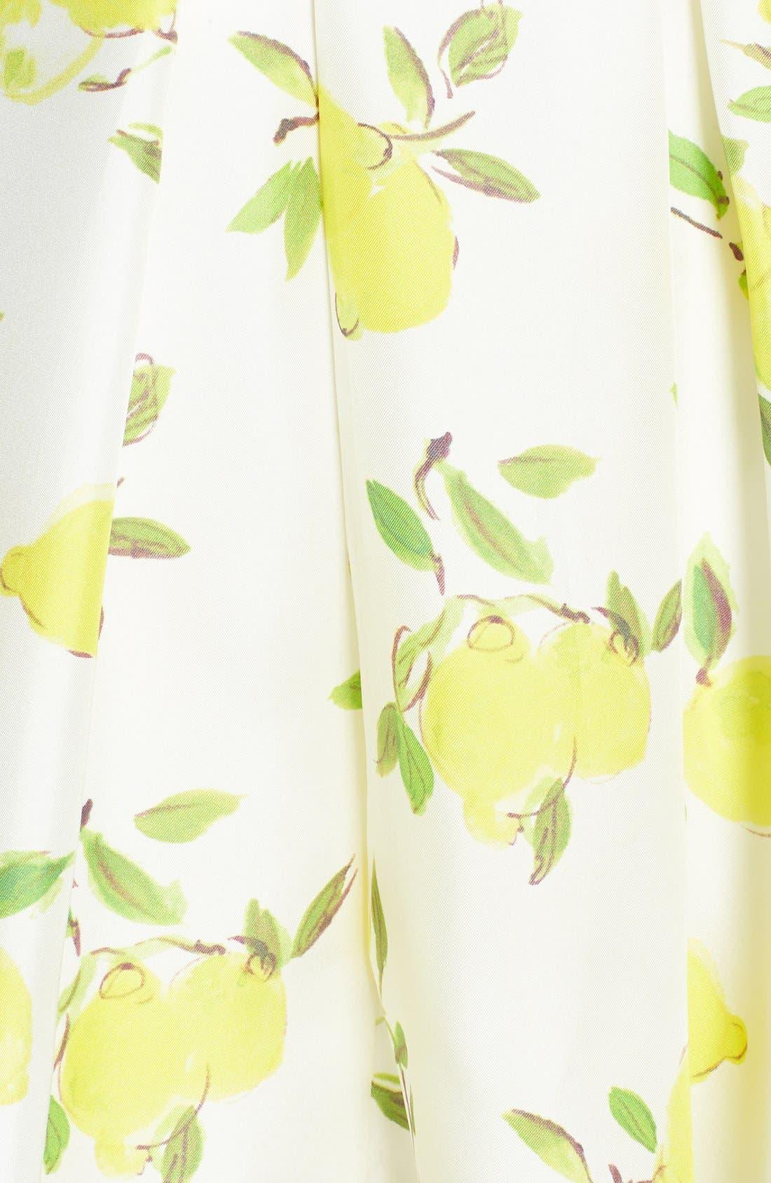 Alternate Image 3  - kate spade new york 'owen' print silk skirt