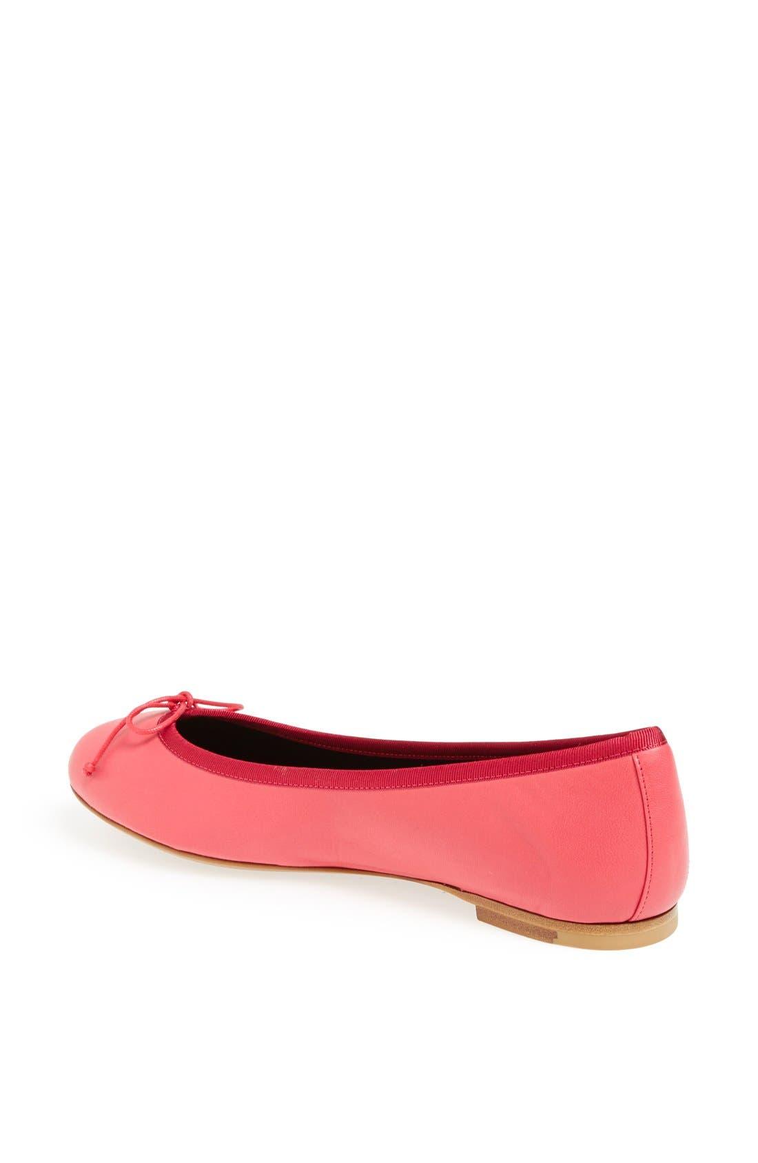 Alternate Image 3  - Saint Laurent 'Dance' Leather Ballet Flat
