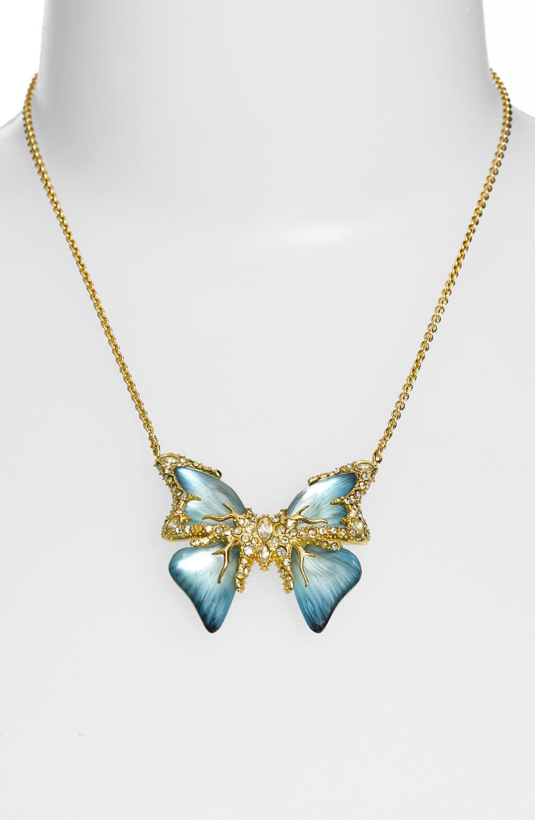 Alternate Image 2  - Alexis Bittar 'Lucite® - Jardin Mystère' Butterfly Pendant Necklace