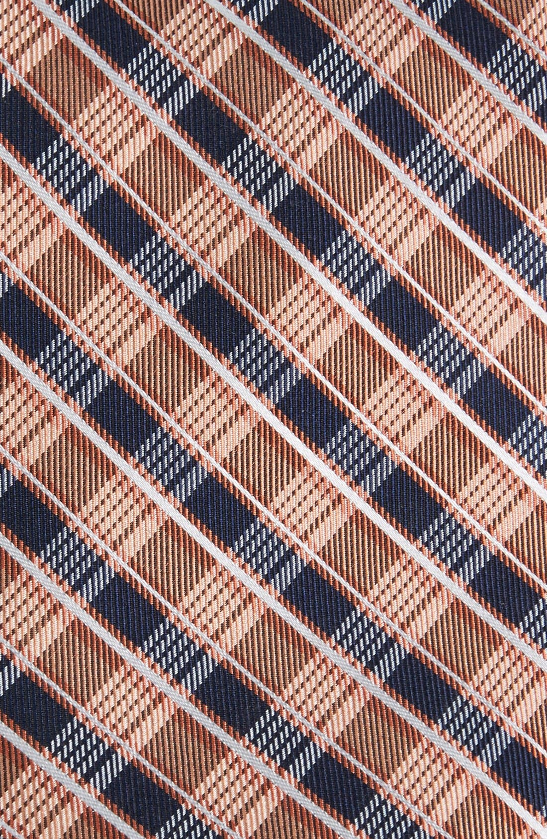 Alternate Image 2  - Michael Kors Plaid Woven Silk Tie