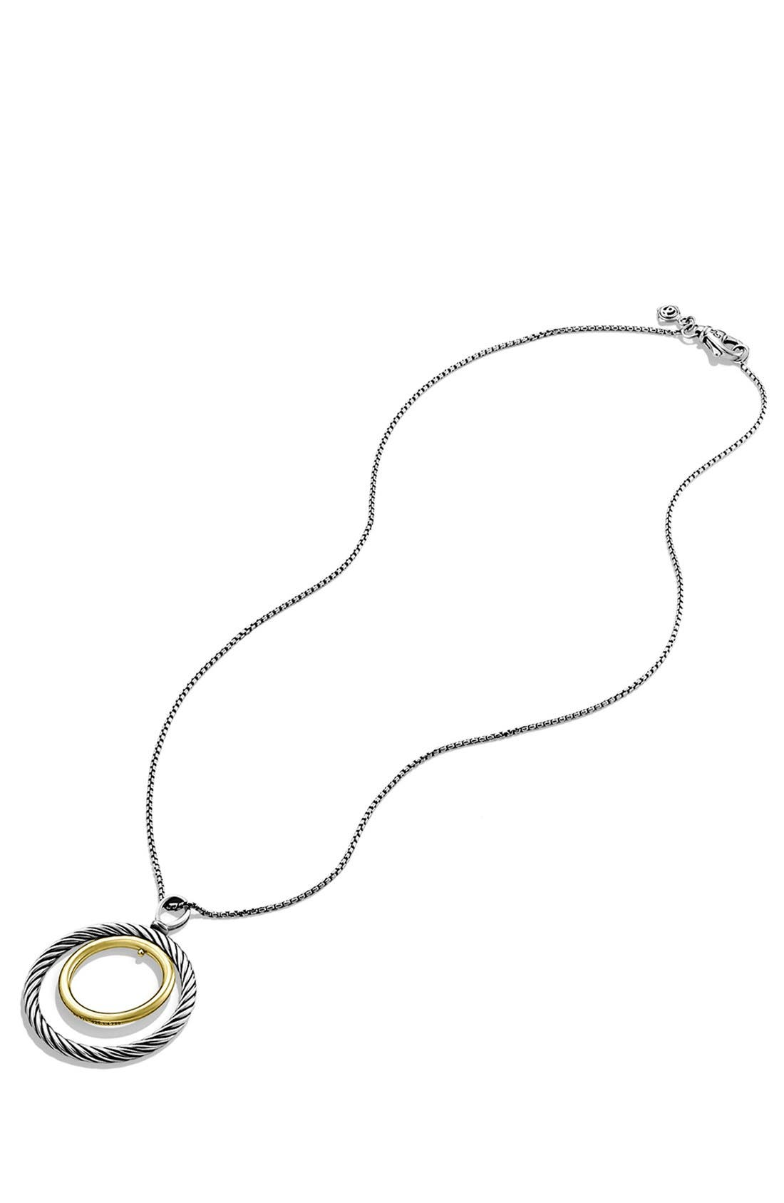 'Mobile' Pendant with Gold on Chain,                             Alternate thumbnail 2, color,                             Two Tone