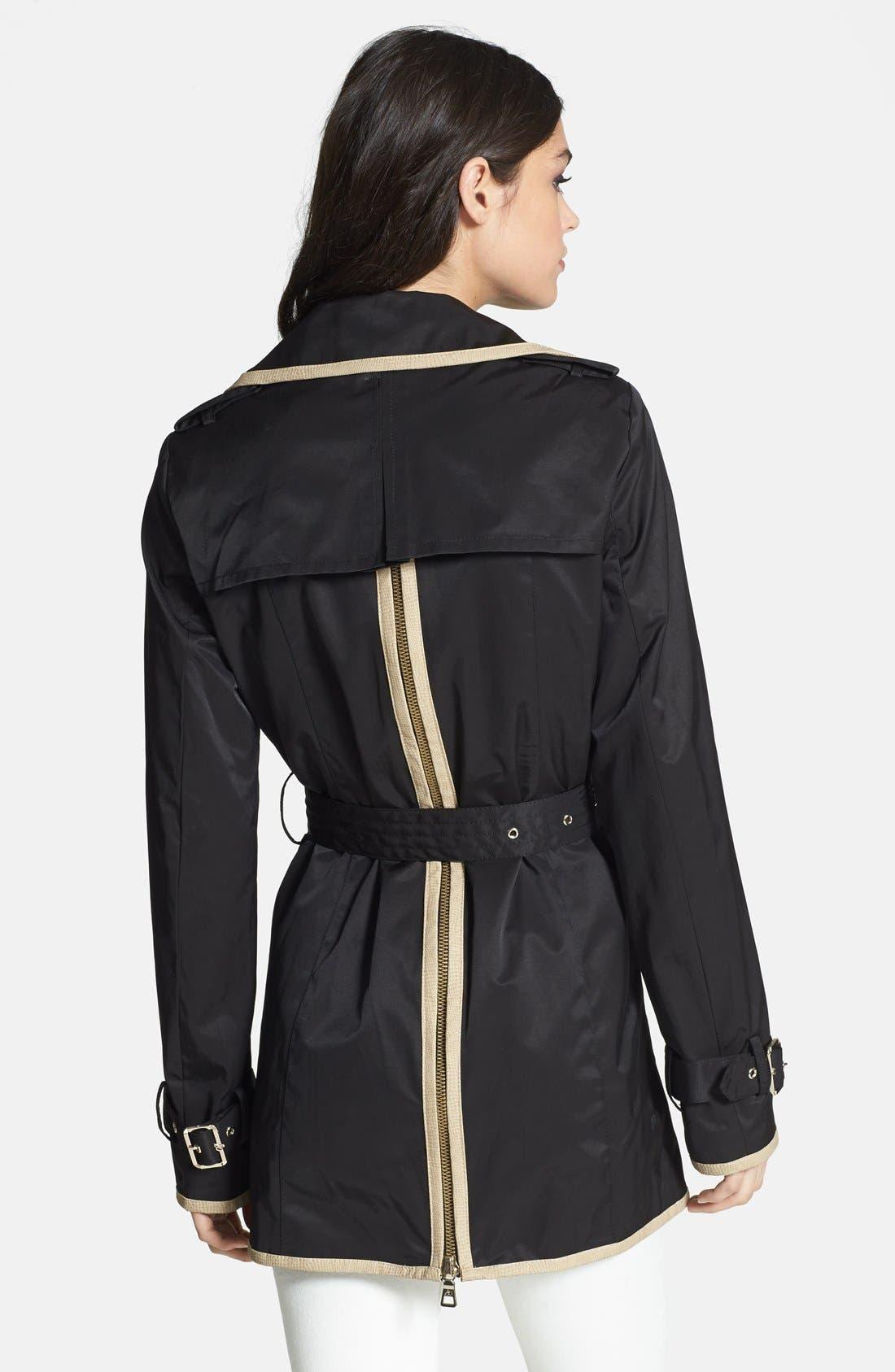 Alternate Image 2  - Sam Edelman 'Gigi II' Zip Back Trench Coat