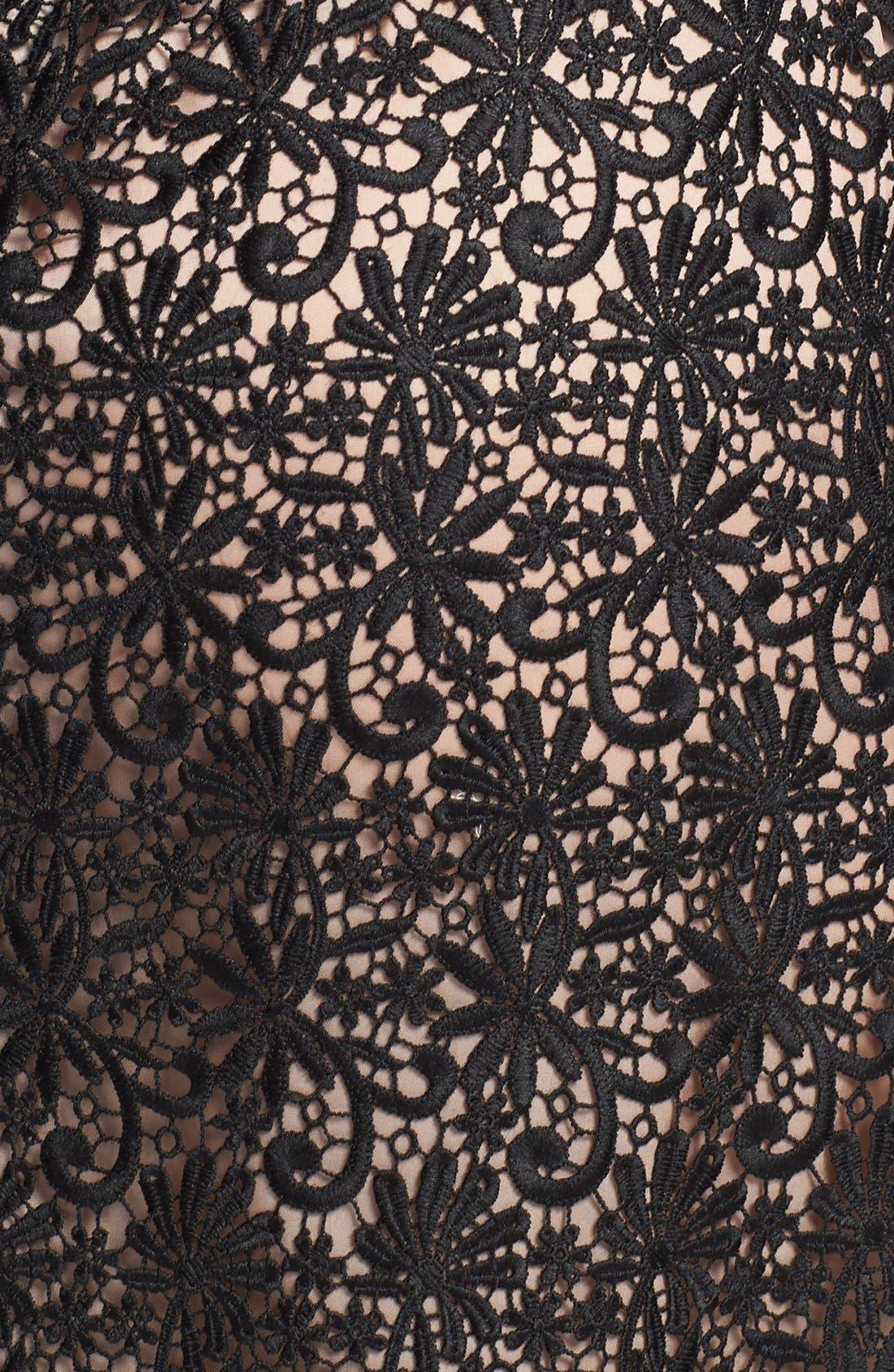 Alternate Image 3  - Jill Jill Stuart Venise Lace Column Gown