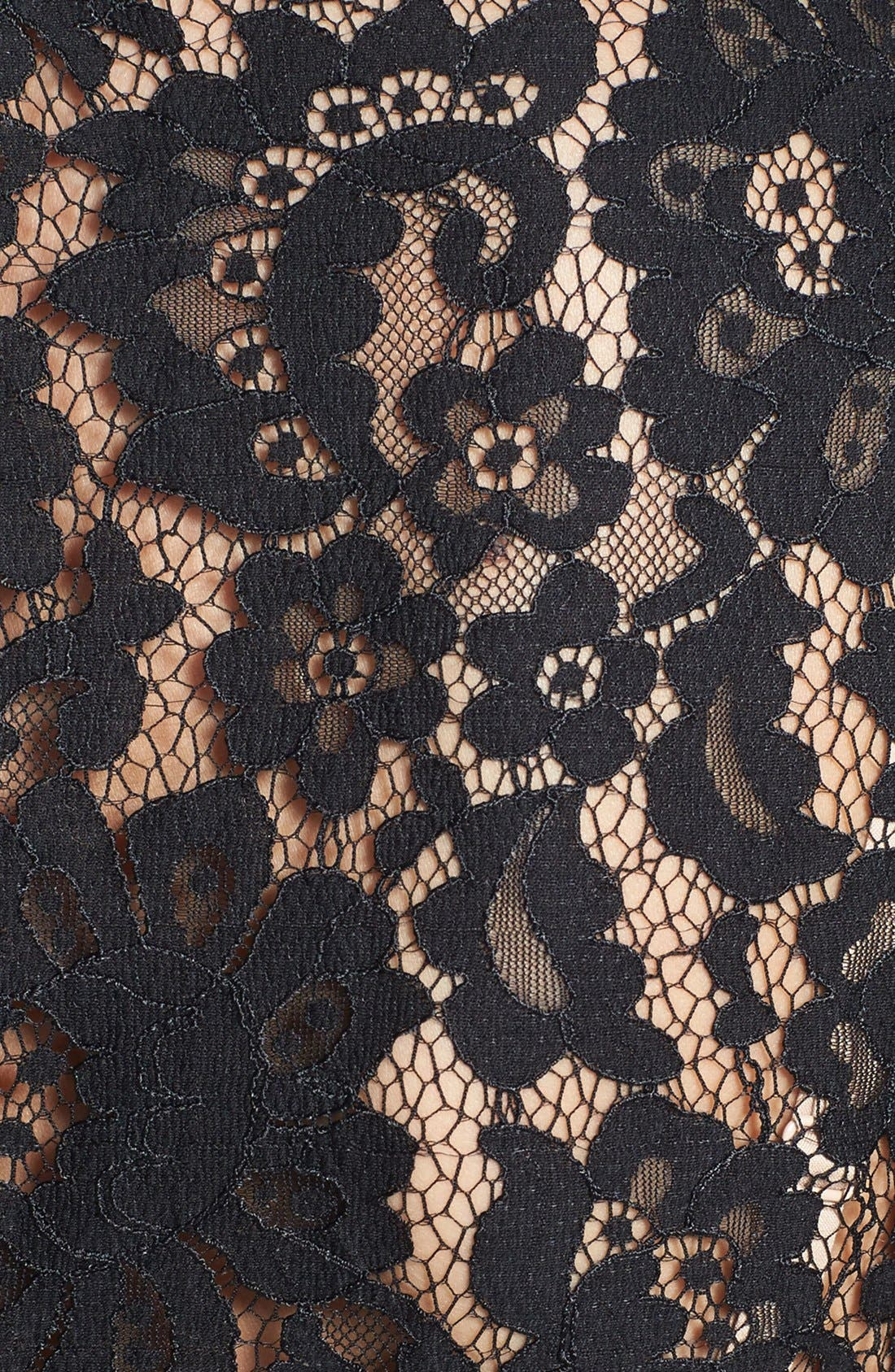 Alternate Image 4  - Eliza J Sleeveless Lace Fit & Flare Dress