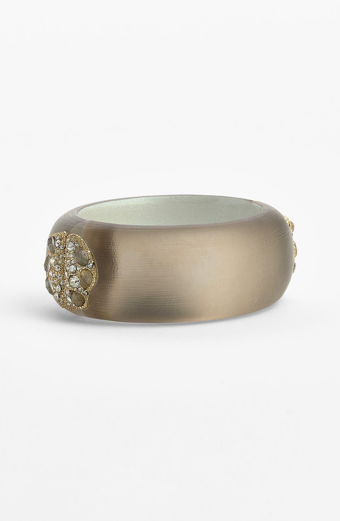 Alternate Image 1 Selected - Alexis Bittar 'Lucite® - Jardin Mystère' Hinged Bracelet