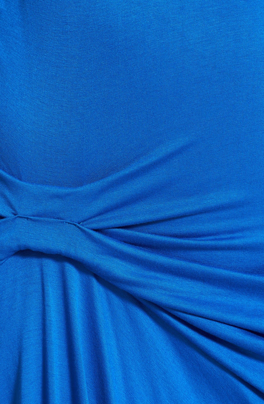 Alternate Image 2  - Maternal America Pleated Maternity Dress