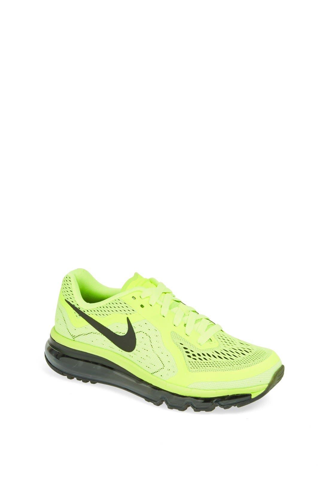 Alternate Image 1 Selected - Nike 'Air Max 2014' Running Shoe (Big Kid)