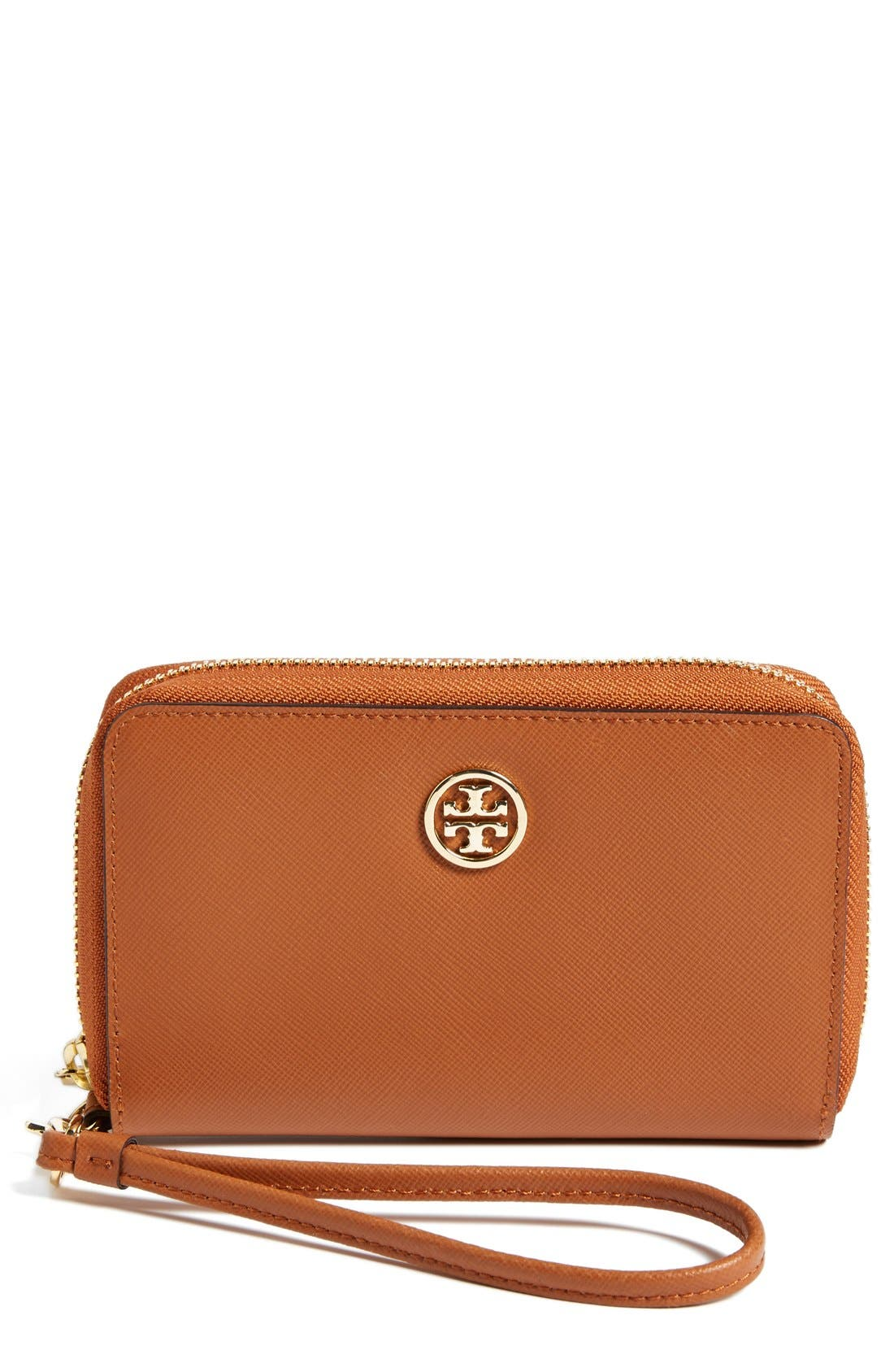 Alternate Image 1 Selected - Tory Burch 'Robinson' Wristlet Wallet