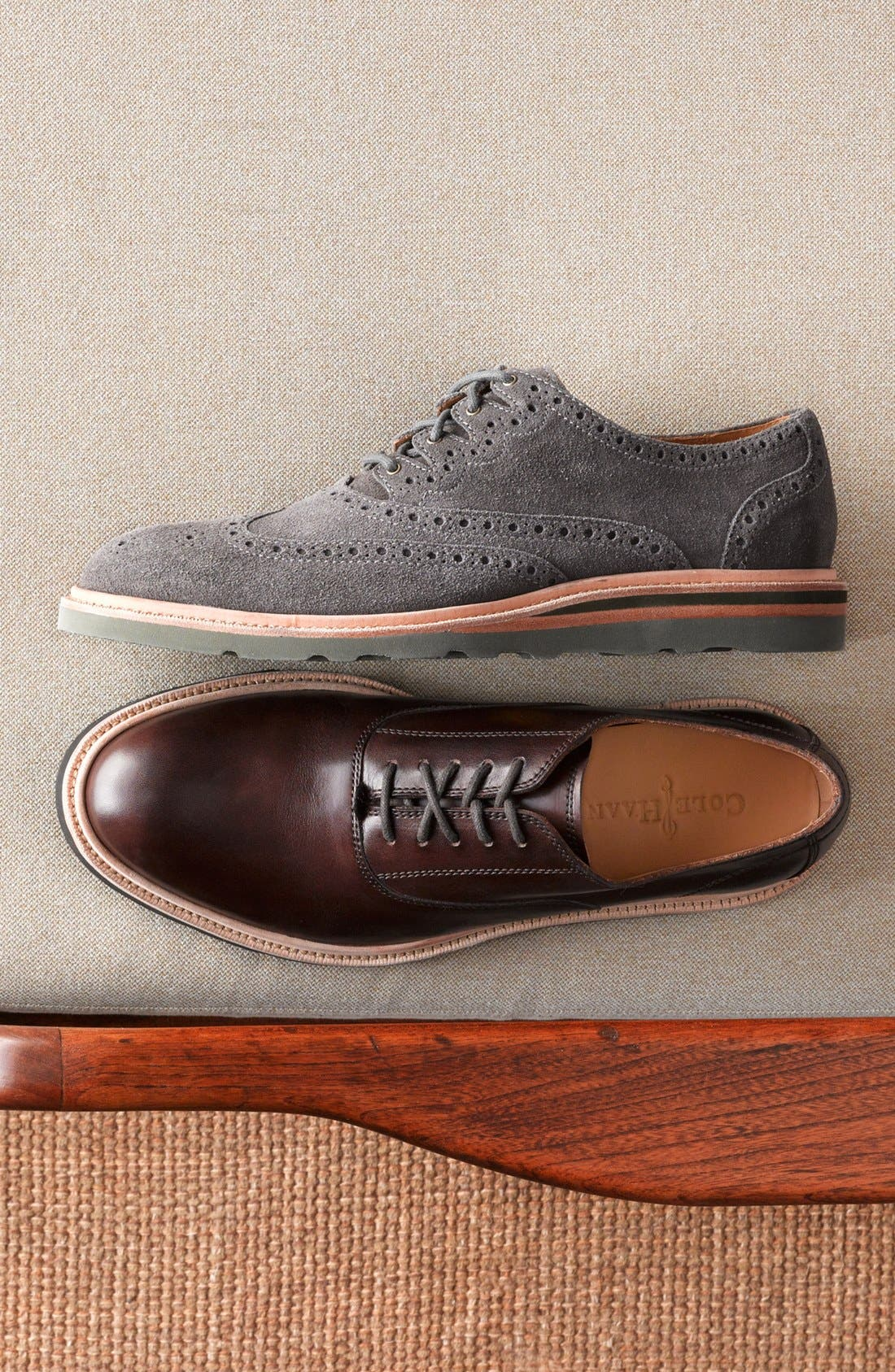 Alternate Image 5  - Cole Haan 'Christy' Wedge Sole Oxford (Men)
