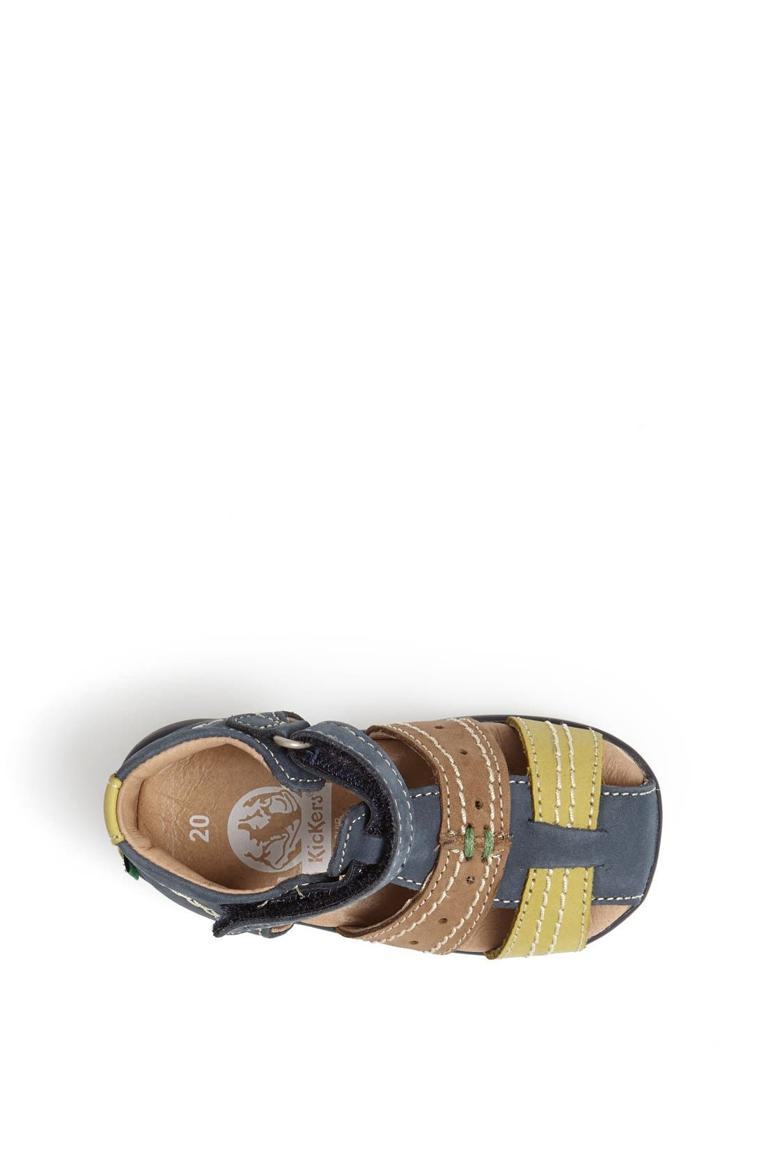 Alternate Image 3  - Kickers 'Bigbazar 2' Sandal (Baby, Walker & Toddler)