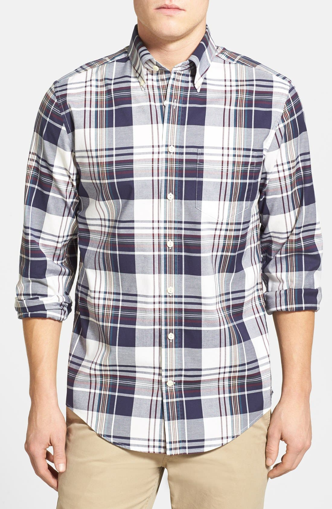 Alternate Image 1 Selected - Gant 'O.P. Pinpoint' Oxford Sport Shirt