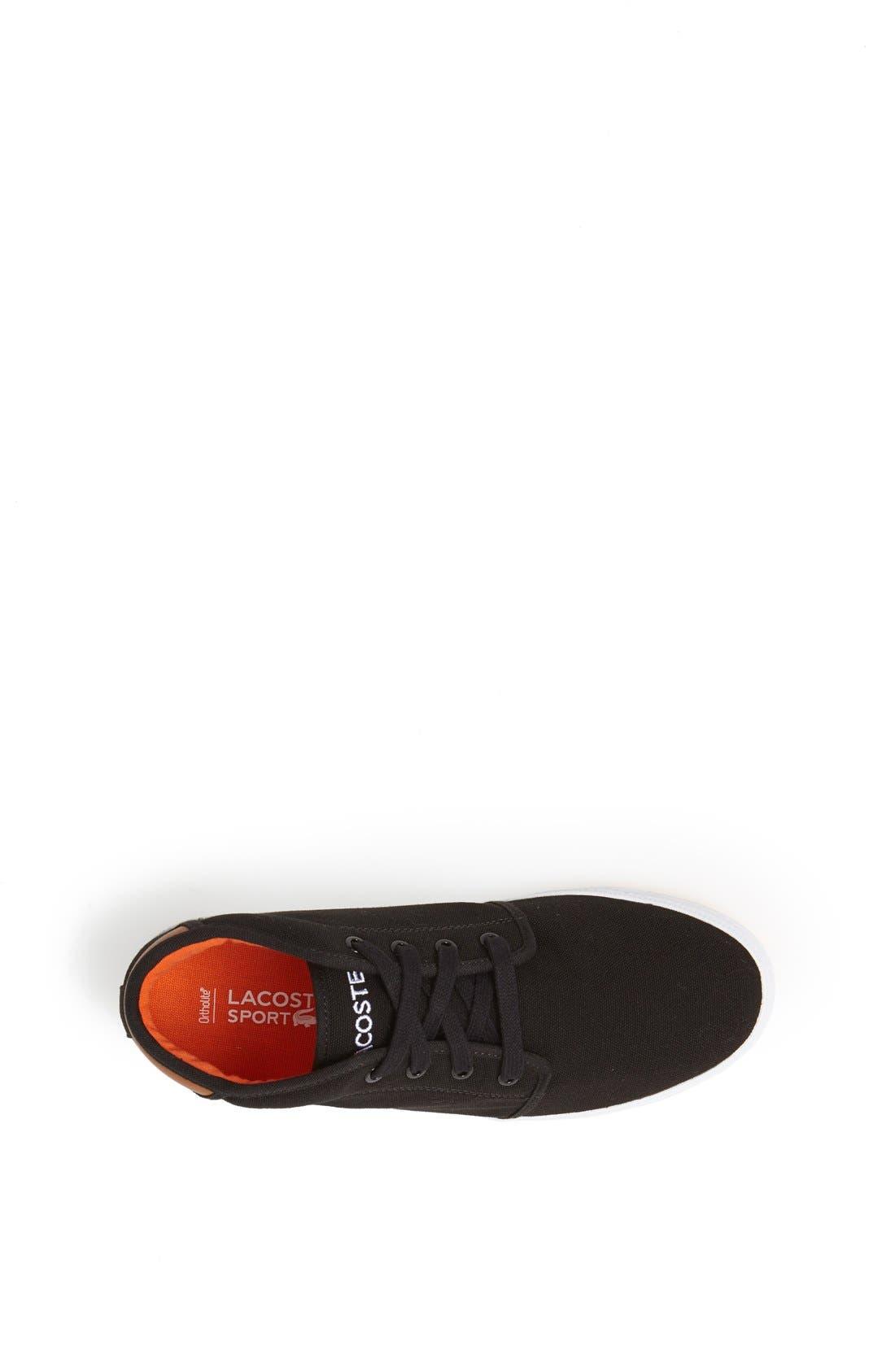Alternate Image 3  - Lacoste 'Ampthill' Canvas Sneaker (Baby, Walker, Toddler, Little Kid & Big Kid)