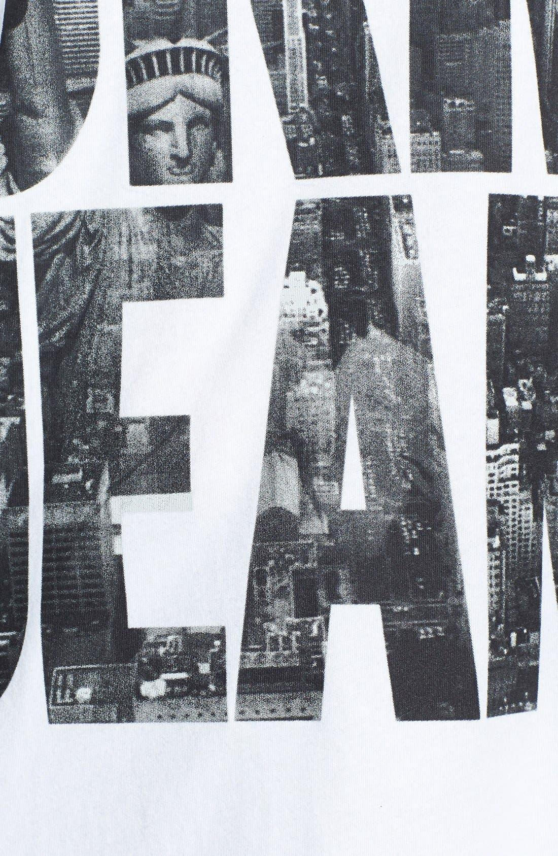 Alternate Image 3  - DKNY 'Billboard Logo' Tee (Plus Size)