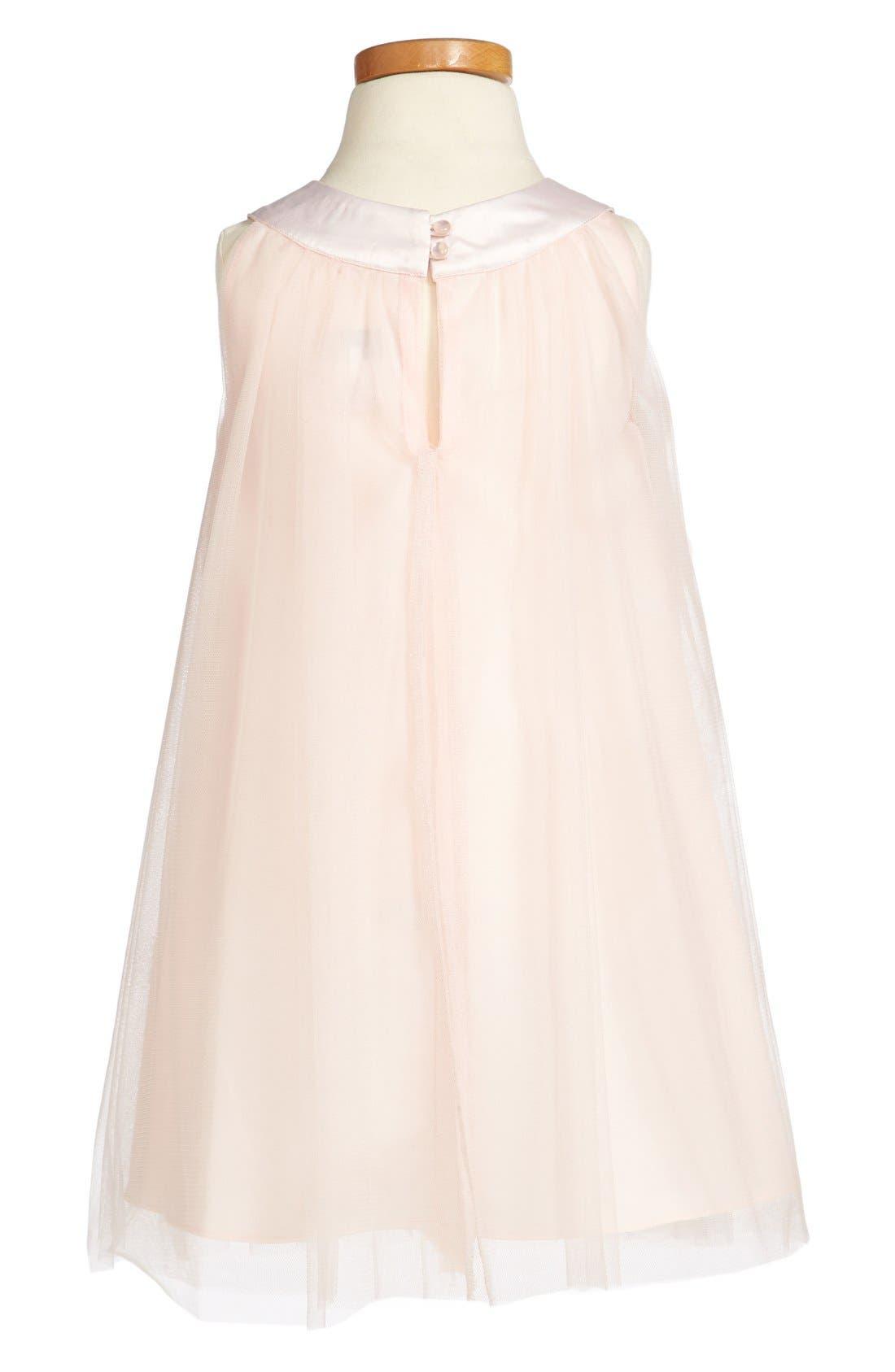 Alternate Image 2  - Us Angels Embellished Dress (Baby Girls & Toddler Girls) (Online Only)