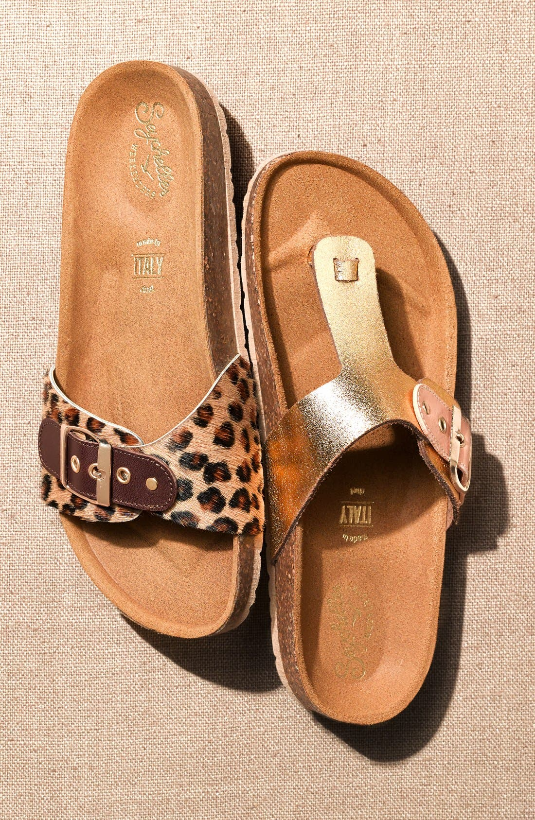 Alternate Image 5  - Seychelles 'So Far Away' Leopard Print Calf Hair Sandal