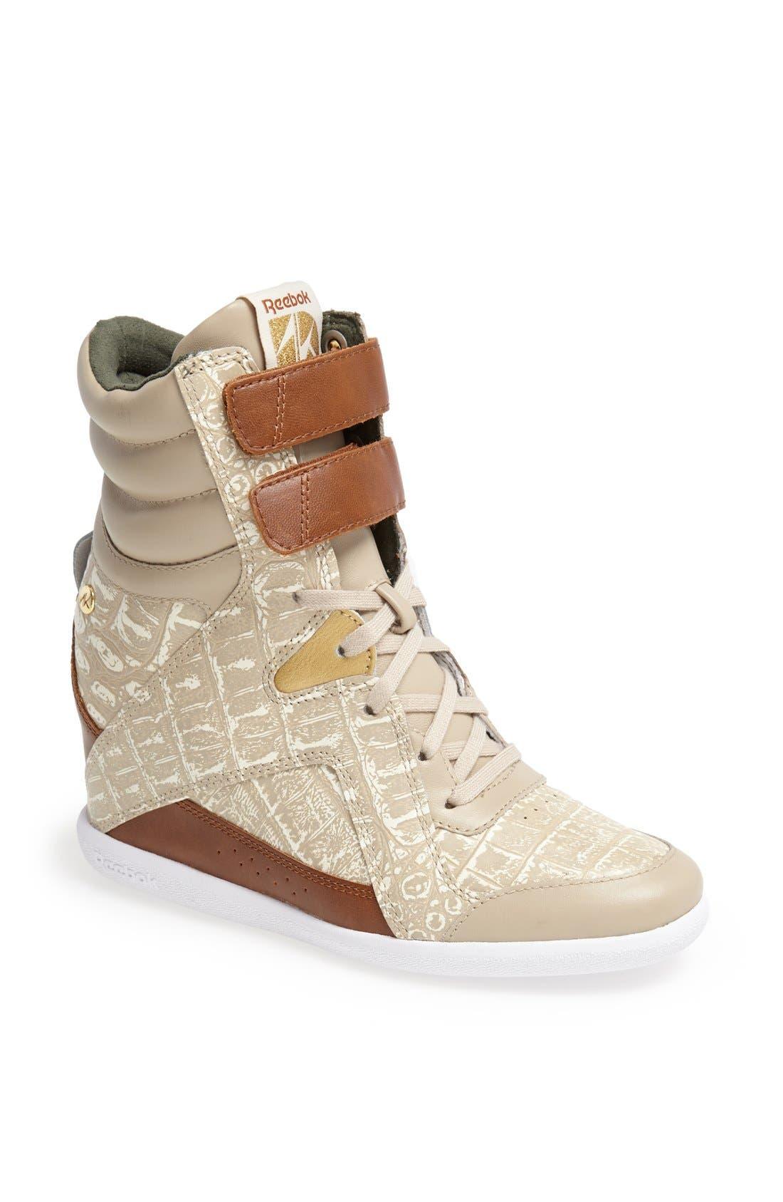 Alternate Image 1 Selected - Reebok Wedge Sneaker