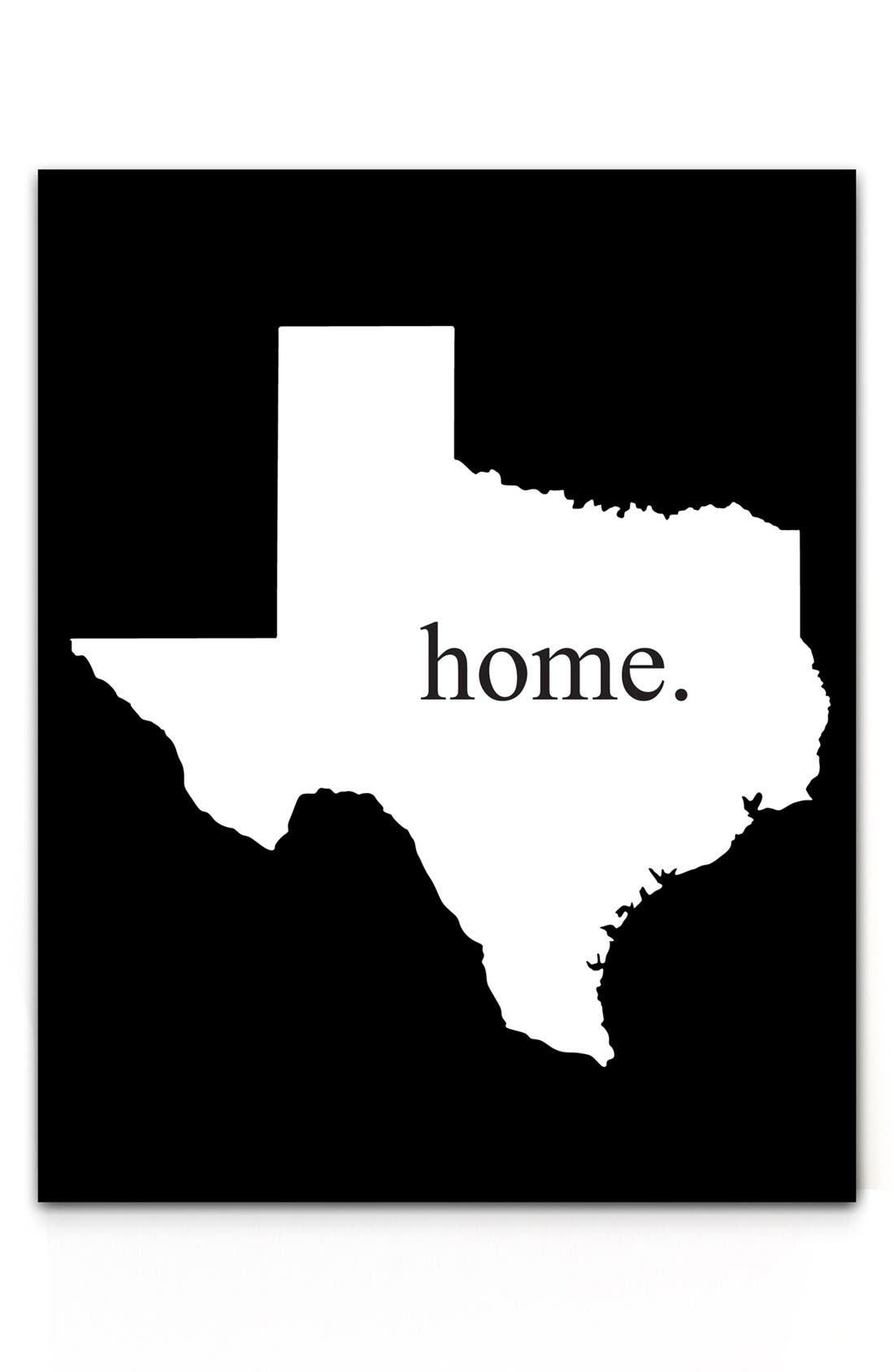 Main Image - Cathy's Concepts 'Home State' Aluminum Bar Sign