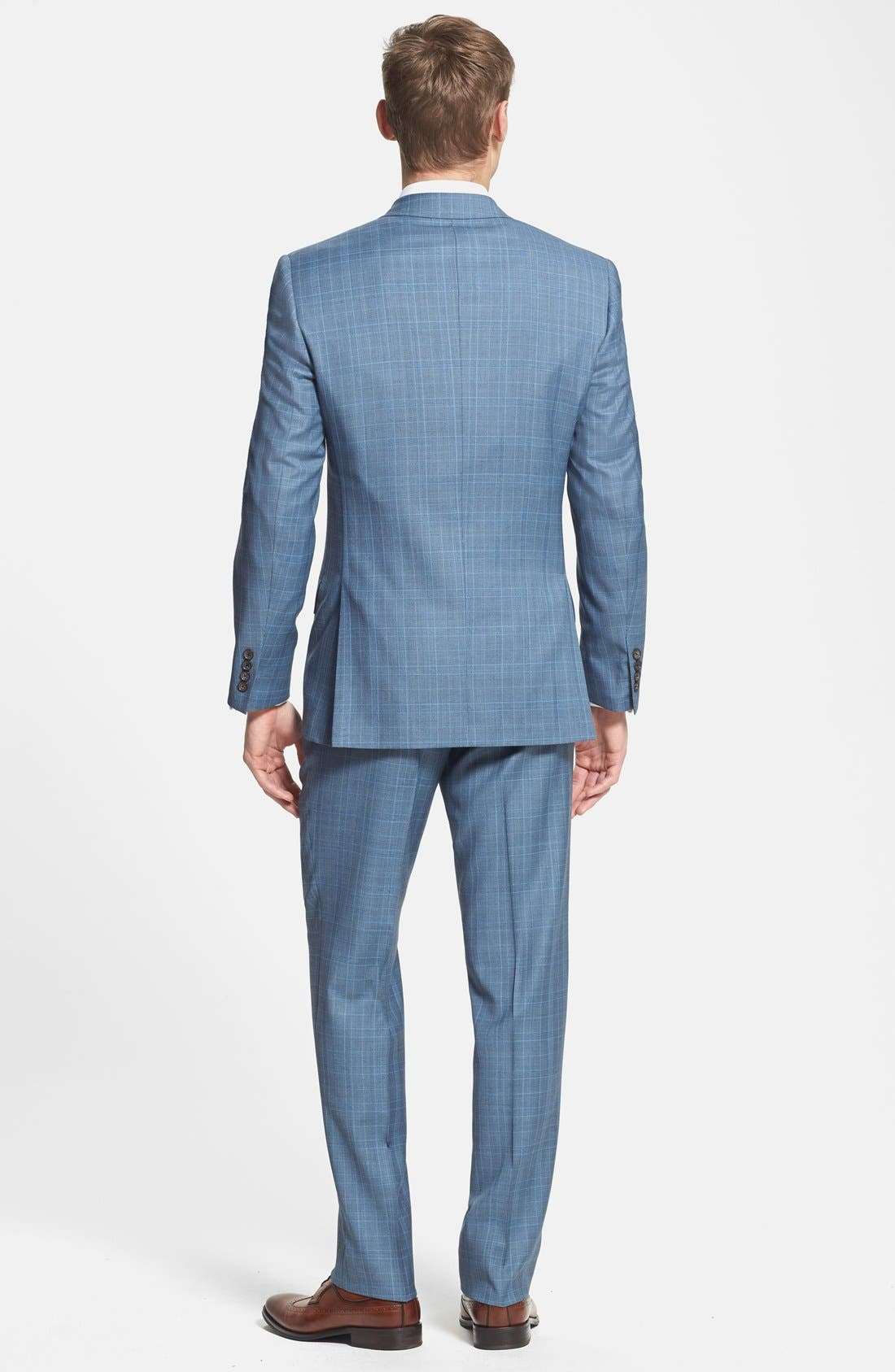 Alternate Image 2  - Ted Baker London 'Jones' Trim Fit Three-Piece Wool Suit