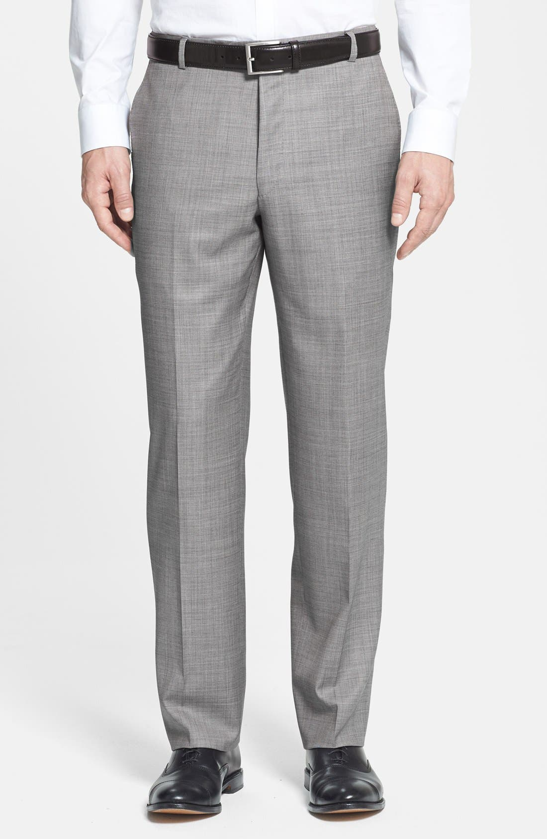 Alternate Image 4  - BEACON HIGH LOW MOHAIR 2BTN SUIT