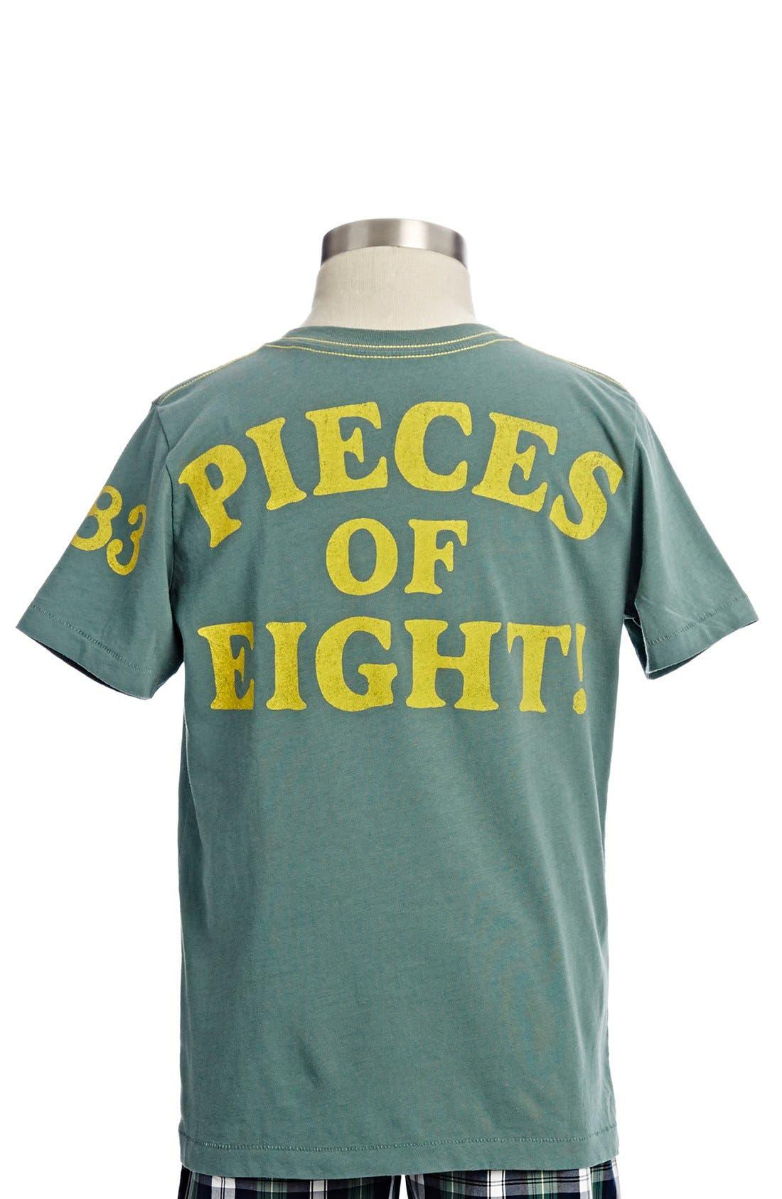 Alternate Image 2  - Peek 'Treasure Island' T-Shirt (Toddler Boys, Little Boys & Big Boys)