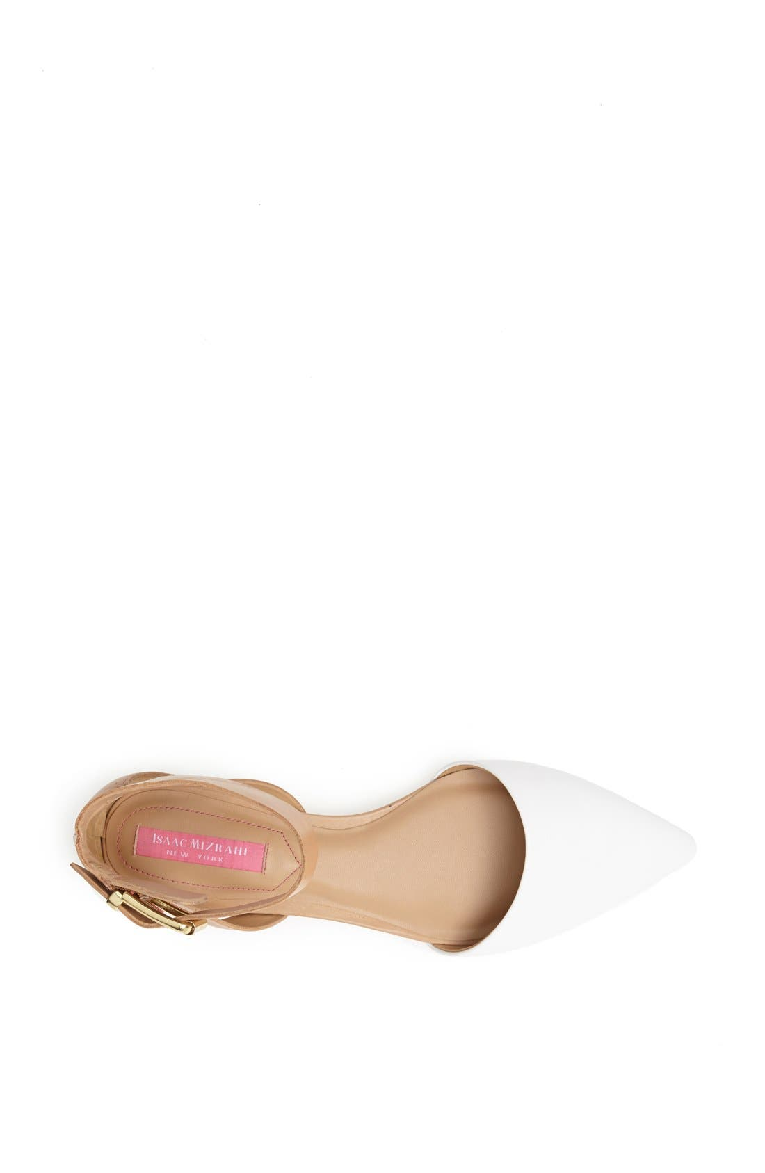 Alternate Image 3  - Isaac Mizrahi New York 'Evelyn' Leather Flat