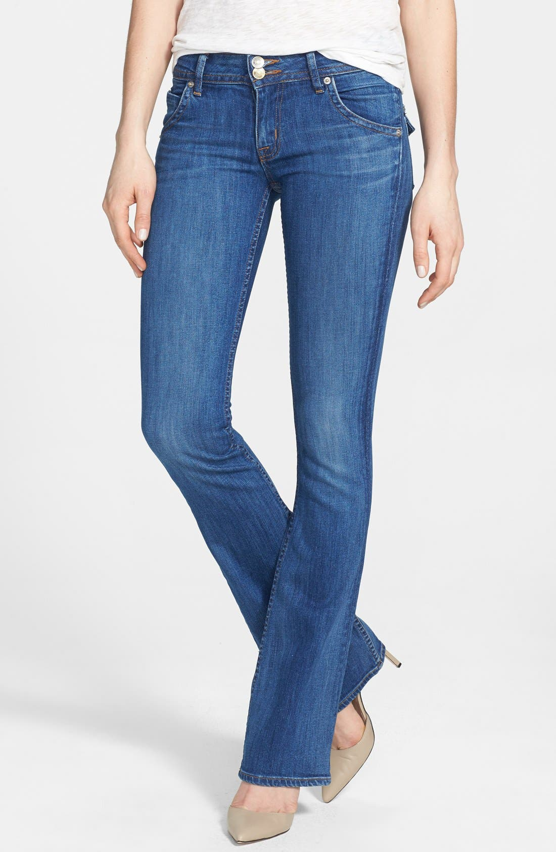 Main Image - Hudson Jeans Signature Bootcut Jeans (Watchtower)