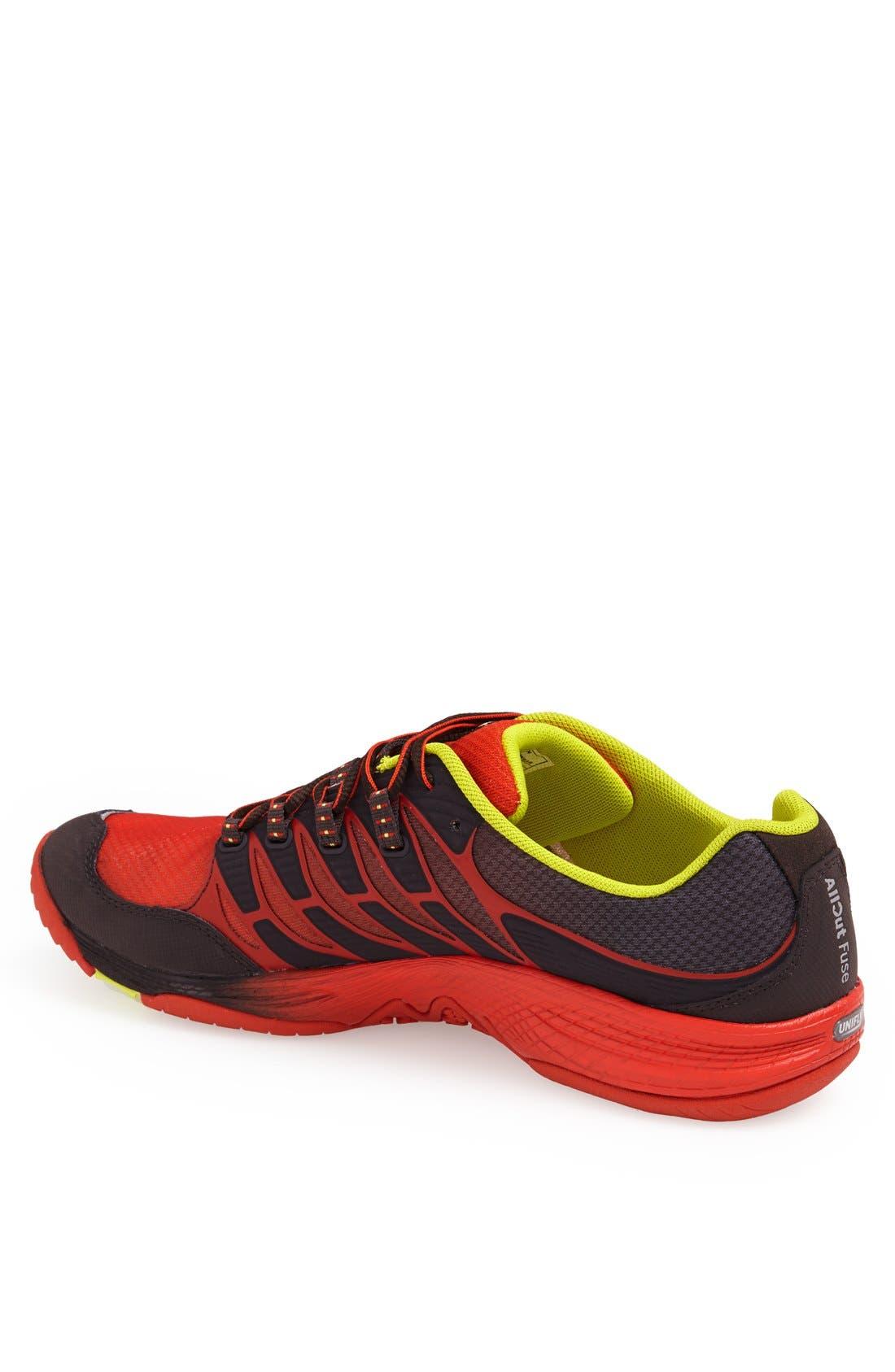 Alternate Image 2  - Merrell 'Allout Fuse' Trail Running Shoe (Men)
