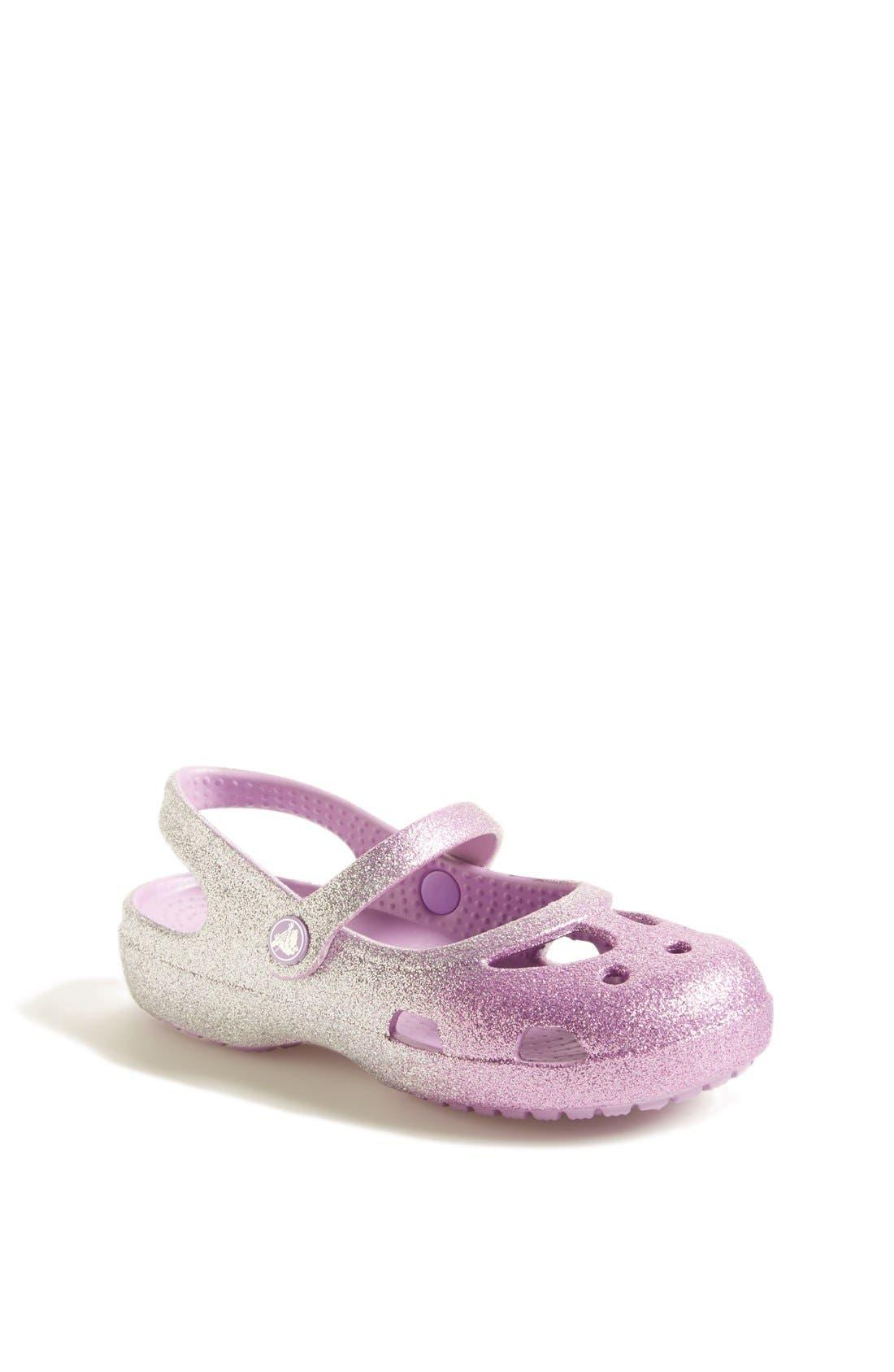 Alternate Image 1 Selected - CROCS™ 'Shayna' Sandal (Baby, Walker, Toddler & Little Kid)