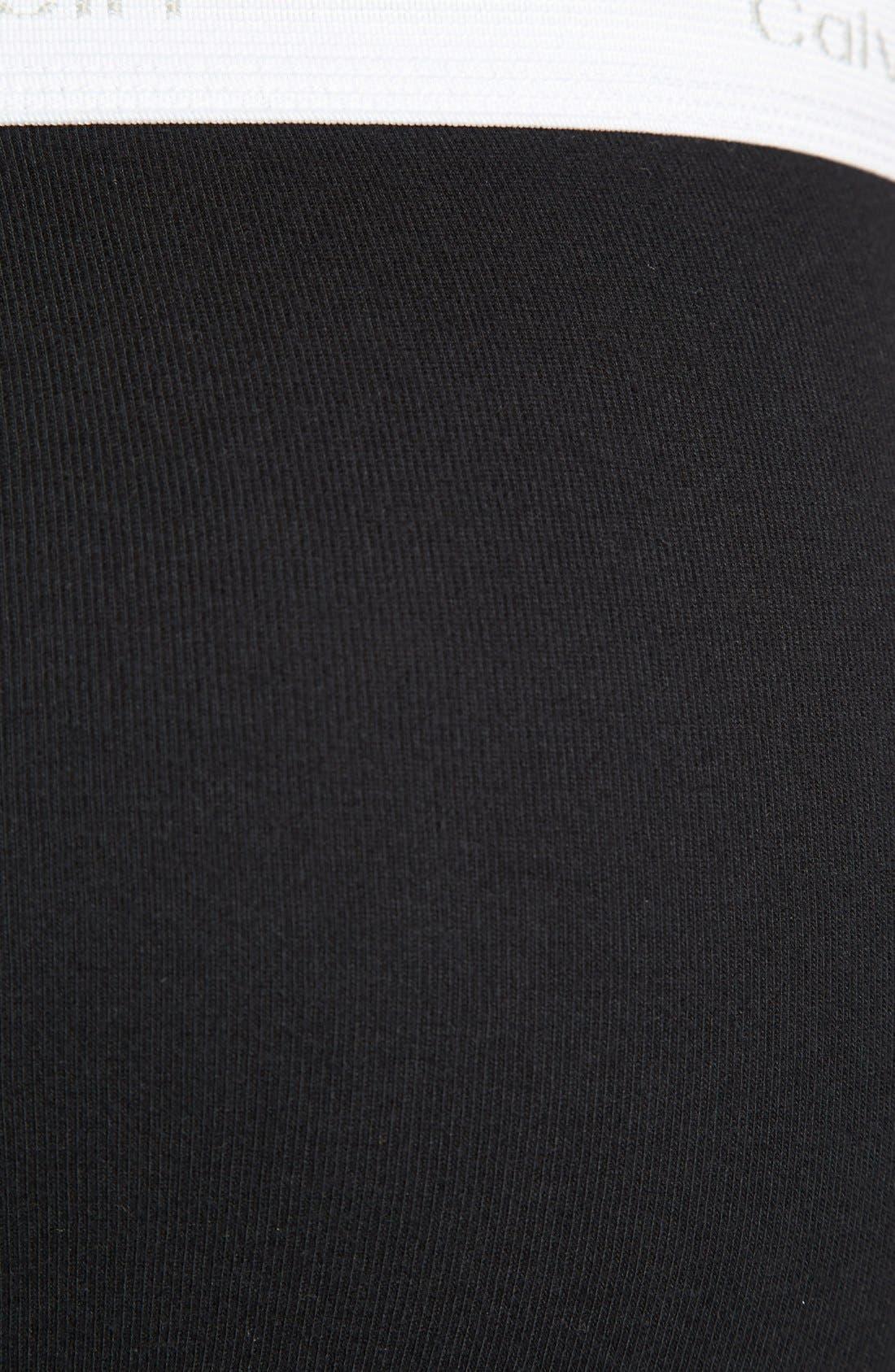 Alternate Image 3  - Calvin Klein 'U1000' Cotton Briefs (Assorted 3-Pack)