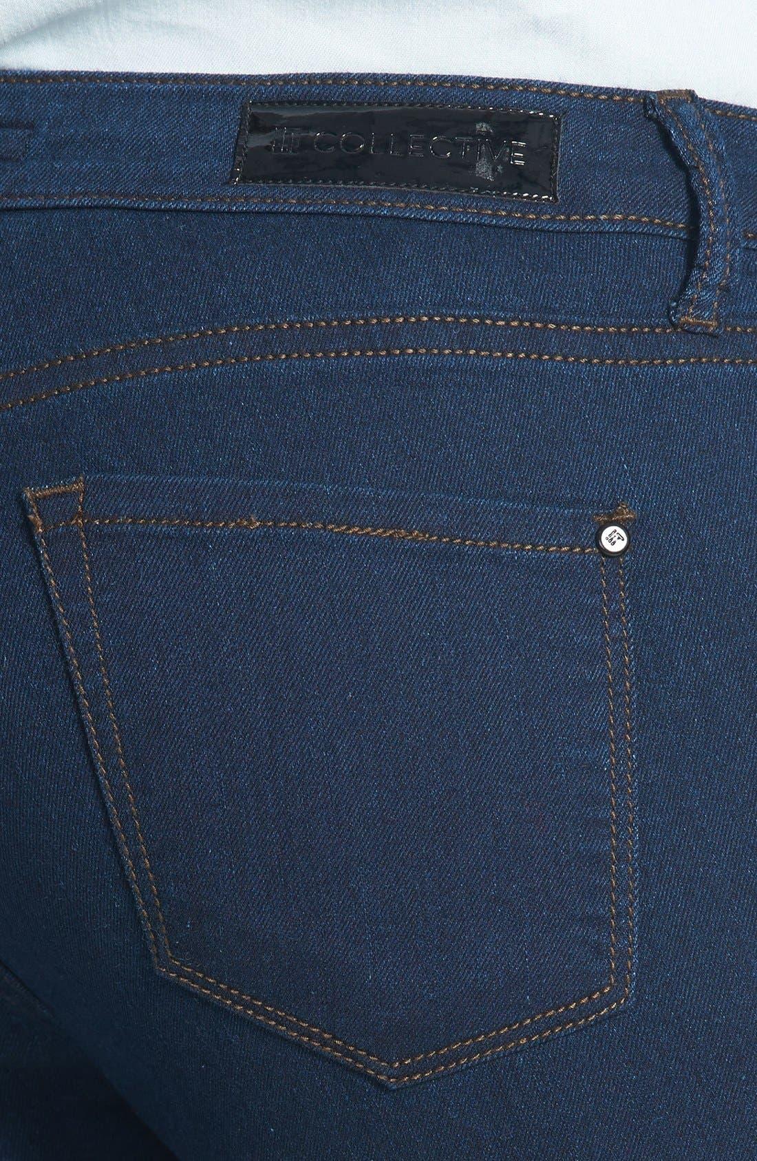 Alternate Image 3  - !iT Collective 'Lola' Stretch Ultra Skinny Jeans (Regular & Petite)