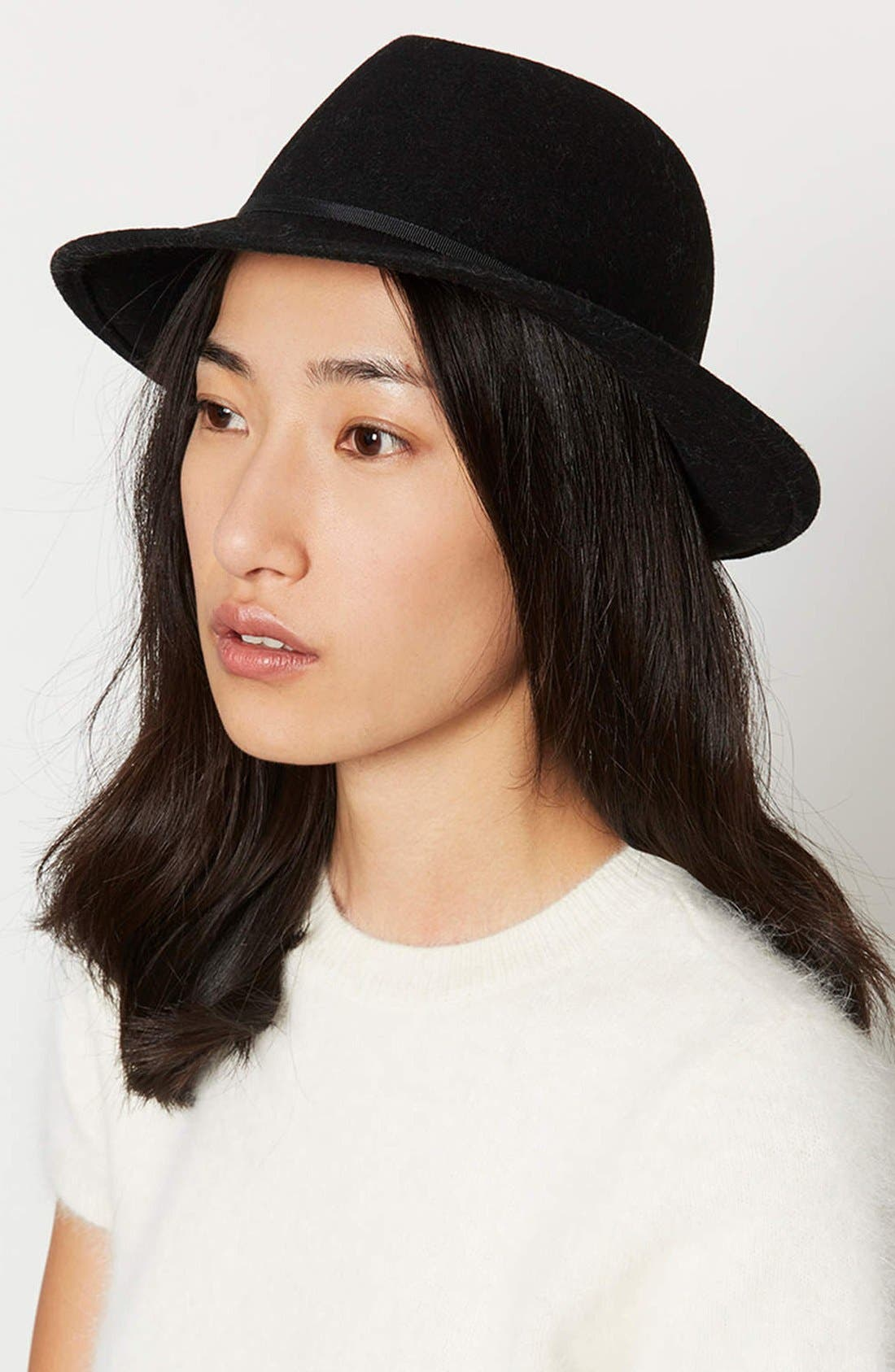 Alternate Image 2  - Topshop Fedora