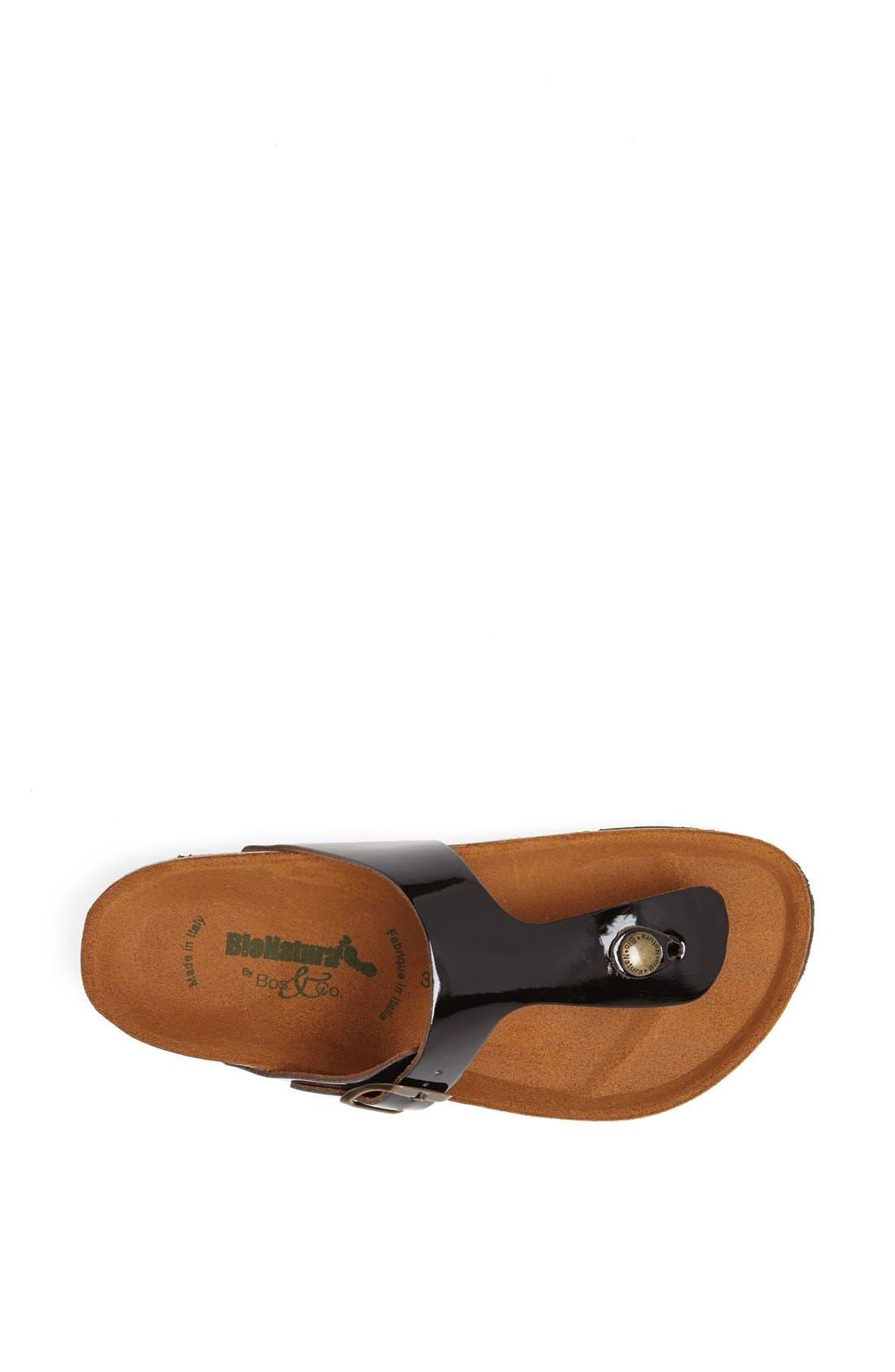 Alternate Image 3  - BioNatura 'Finger' Thong Sandal
