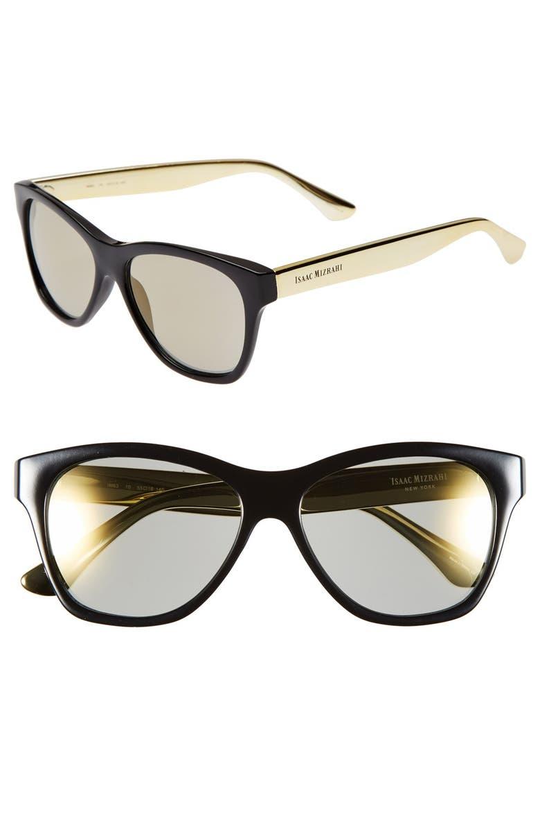 a3d4252253 Isaac Mizrahi New York 55mm Retro Sunglasses