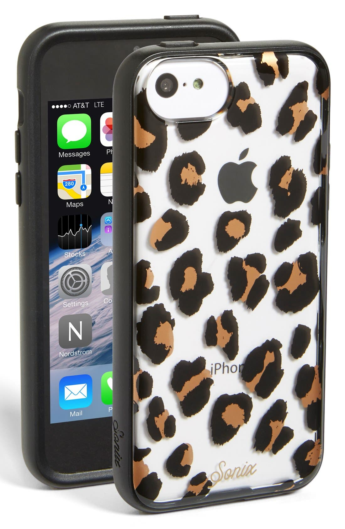 Alternate Image 1 Selected - Sonix 'Cat Call' Clear iPhone 5c Case