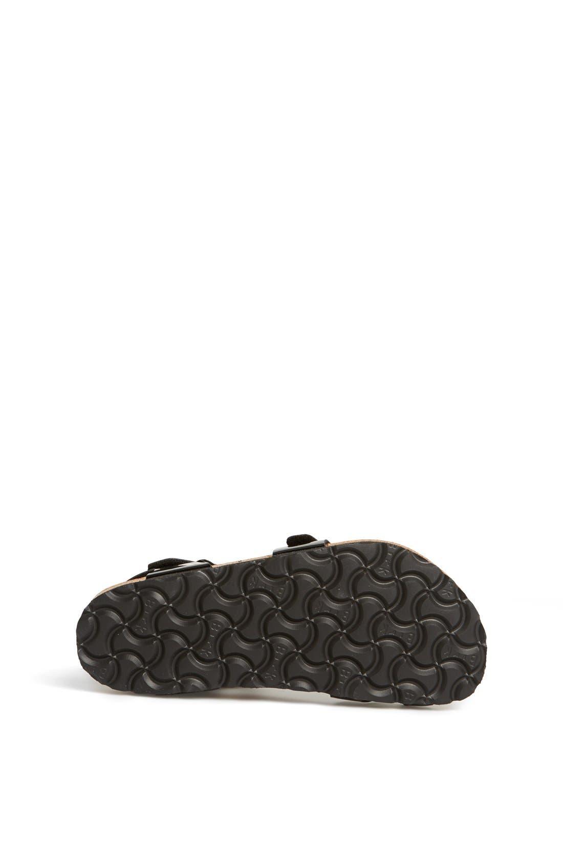Alternate Image 4  - Birkenstock 'Taormina' Patent Sandal (Walker, Toddler & Little Kid)