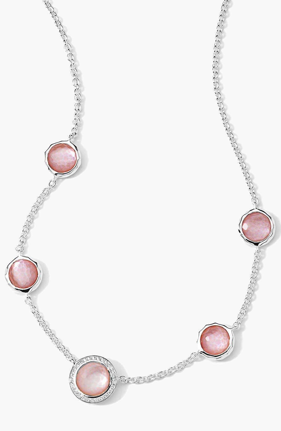Alternate Image 1 Selected - Ippolita 'Stella' Diamond & Doublet Station Necklace