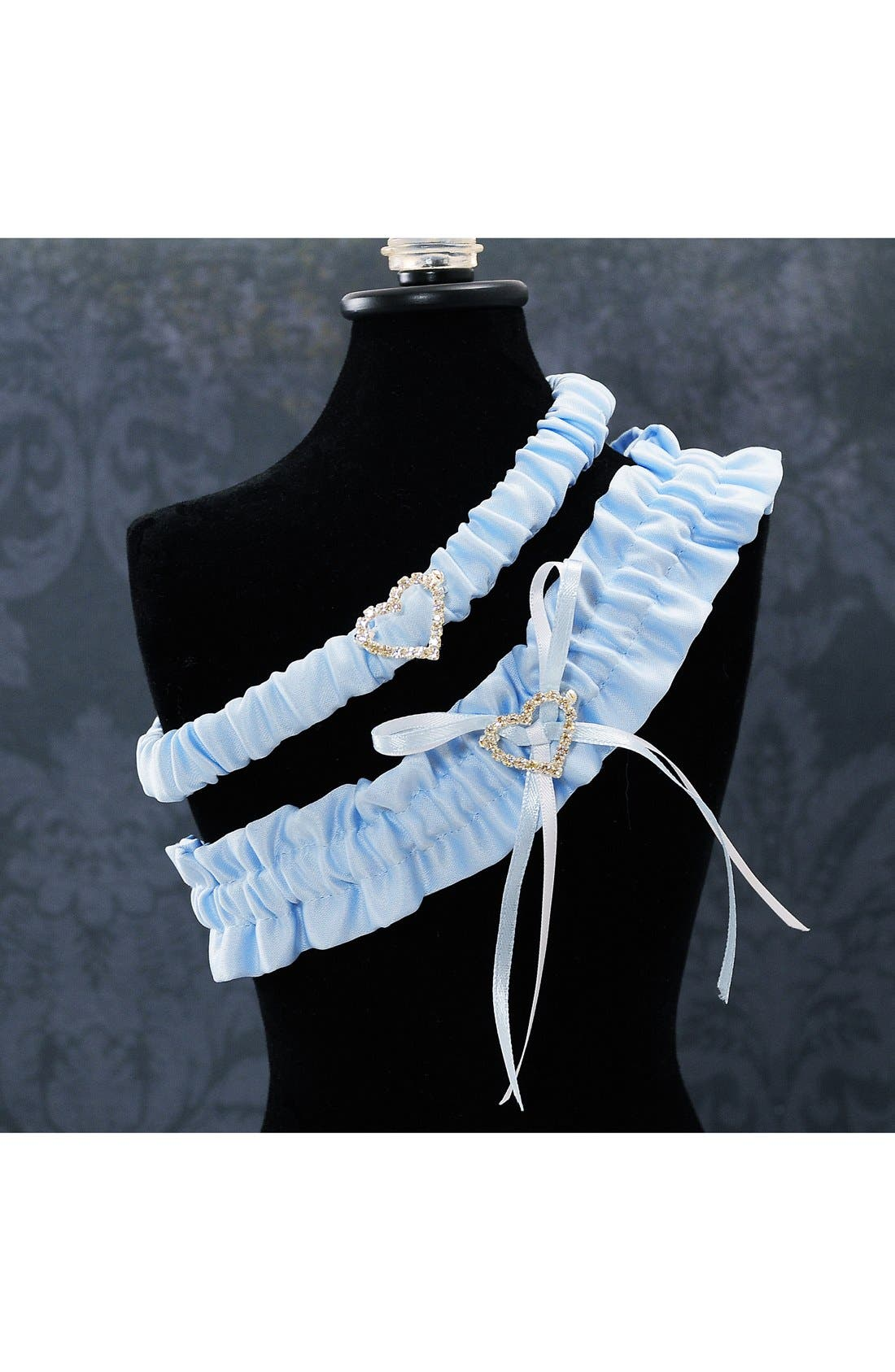 'Blue Crush' Wedding Garter