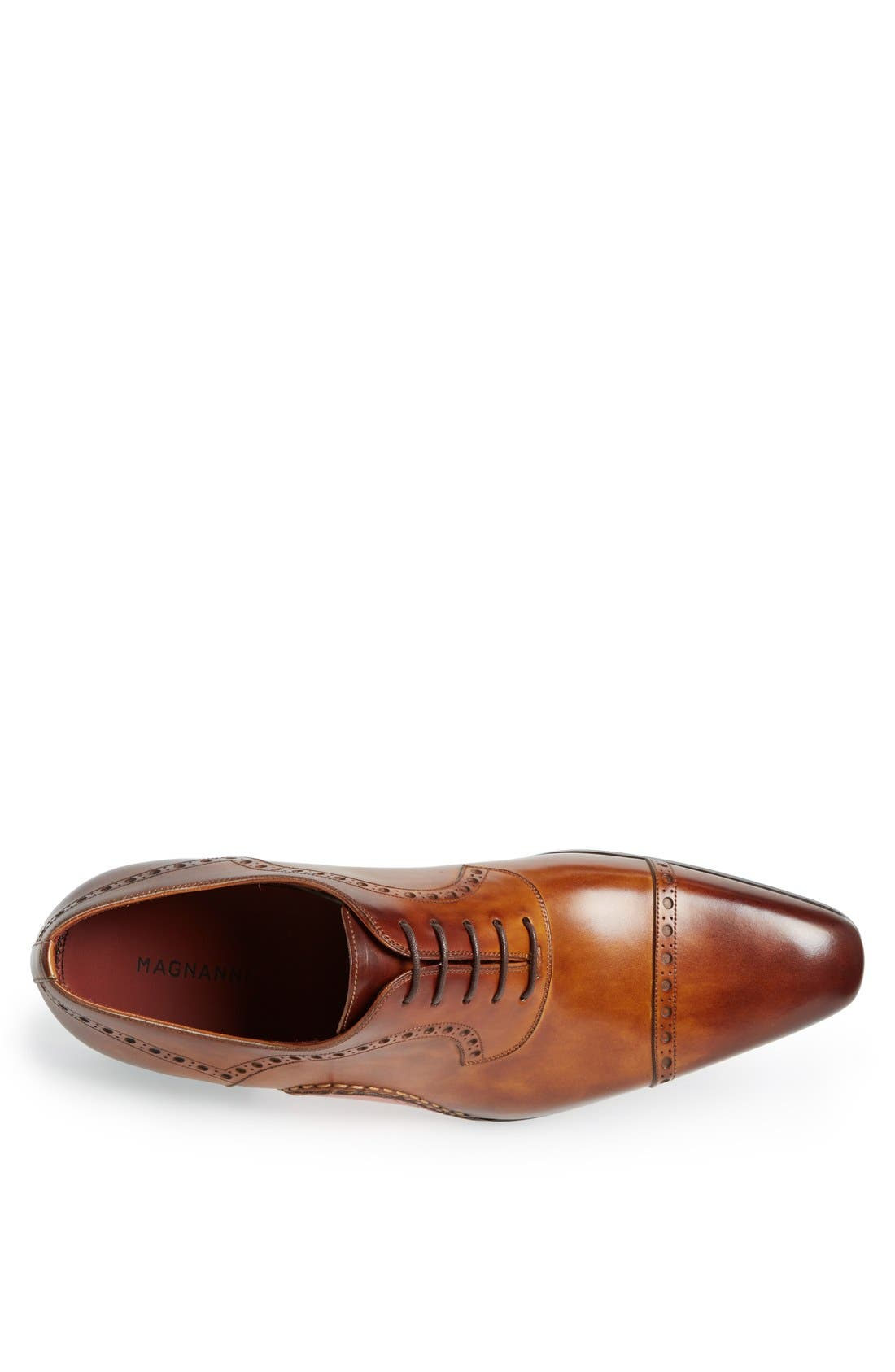 Alternate Image 3  - Magnanni 'Cris' Cap Toe Oxford