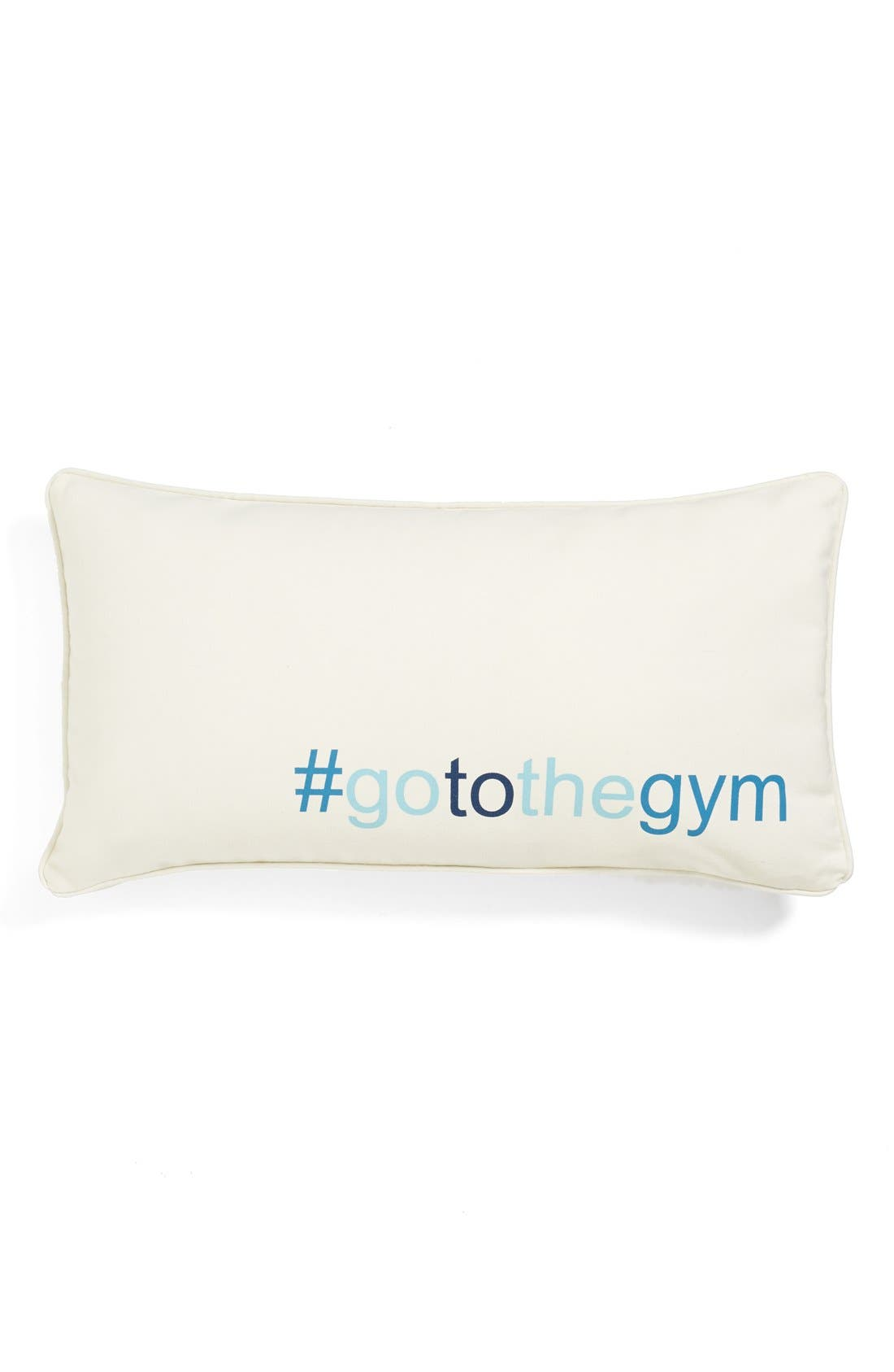 Alternate Image 1 Selected - Levtex '#gotothegym' Pillow
