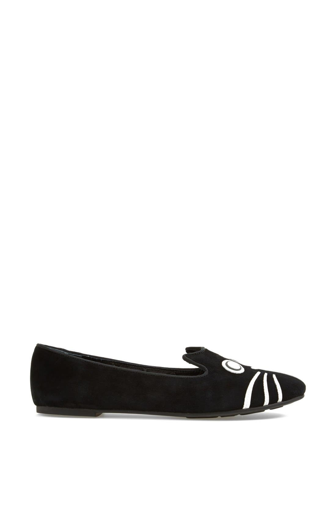 Alternate Image 4  - MARC BY MARC JACOBS 'Rue' Suede Smoking Flat
