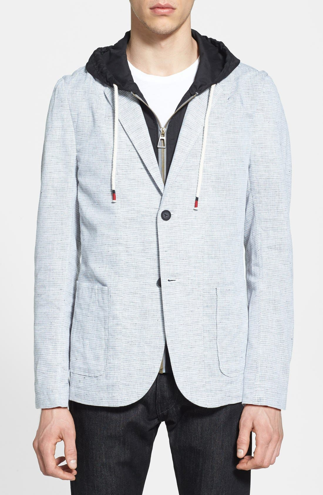 Alternate Image 1 Selected - Howe 'Everything Changes' Sport Coat with Inset Hood