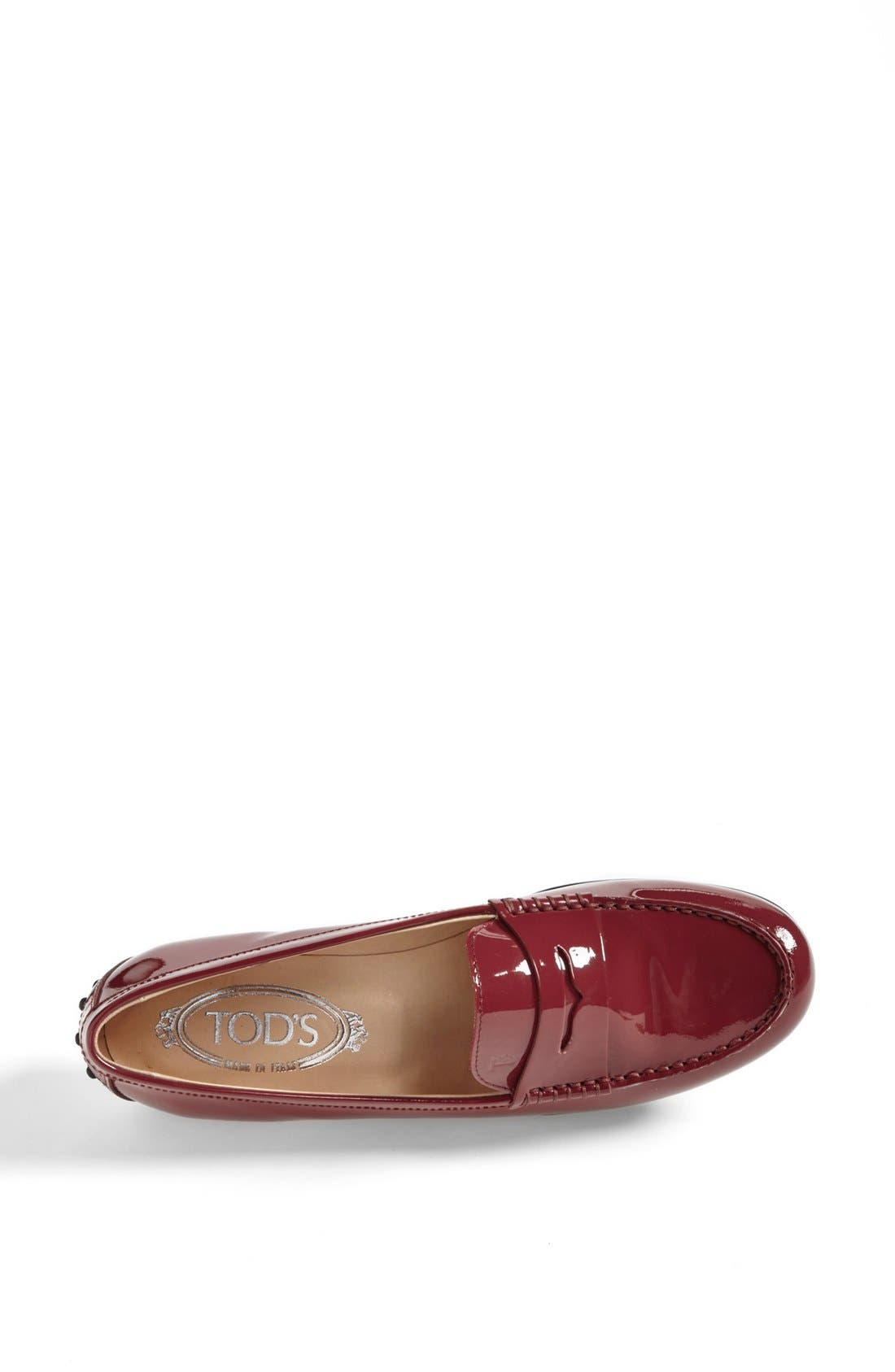 Alternate Image 3  - Tod's 'Gomma' Patent Leather Driving Moccasin
