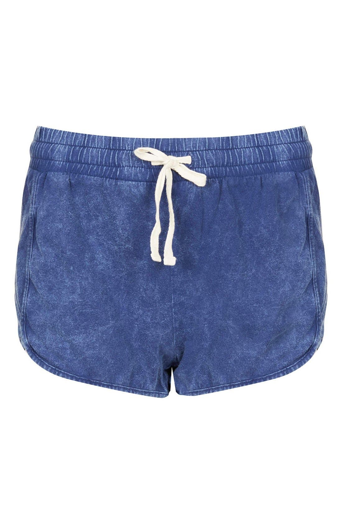 Alternate Image 3  - Topshop Chambray Dolphin Shorts