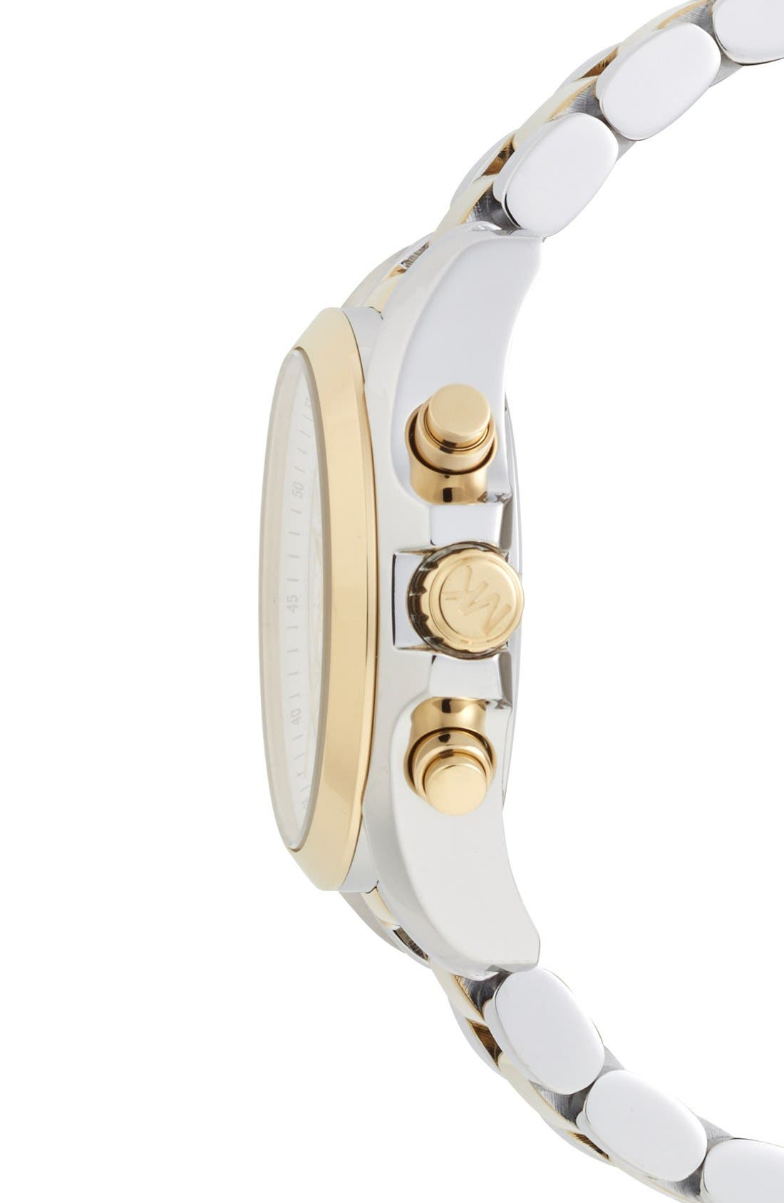Alternate Image 3  - Michael Kors 'Bradshaw - Mini' Chronograph Bracelet Watch, 36mm
