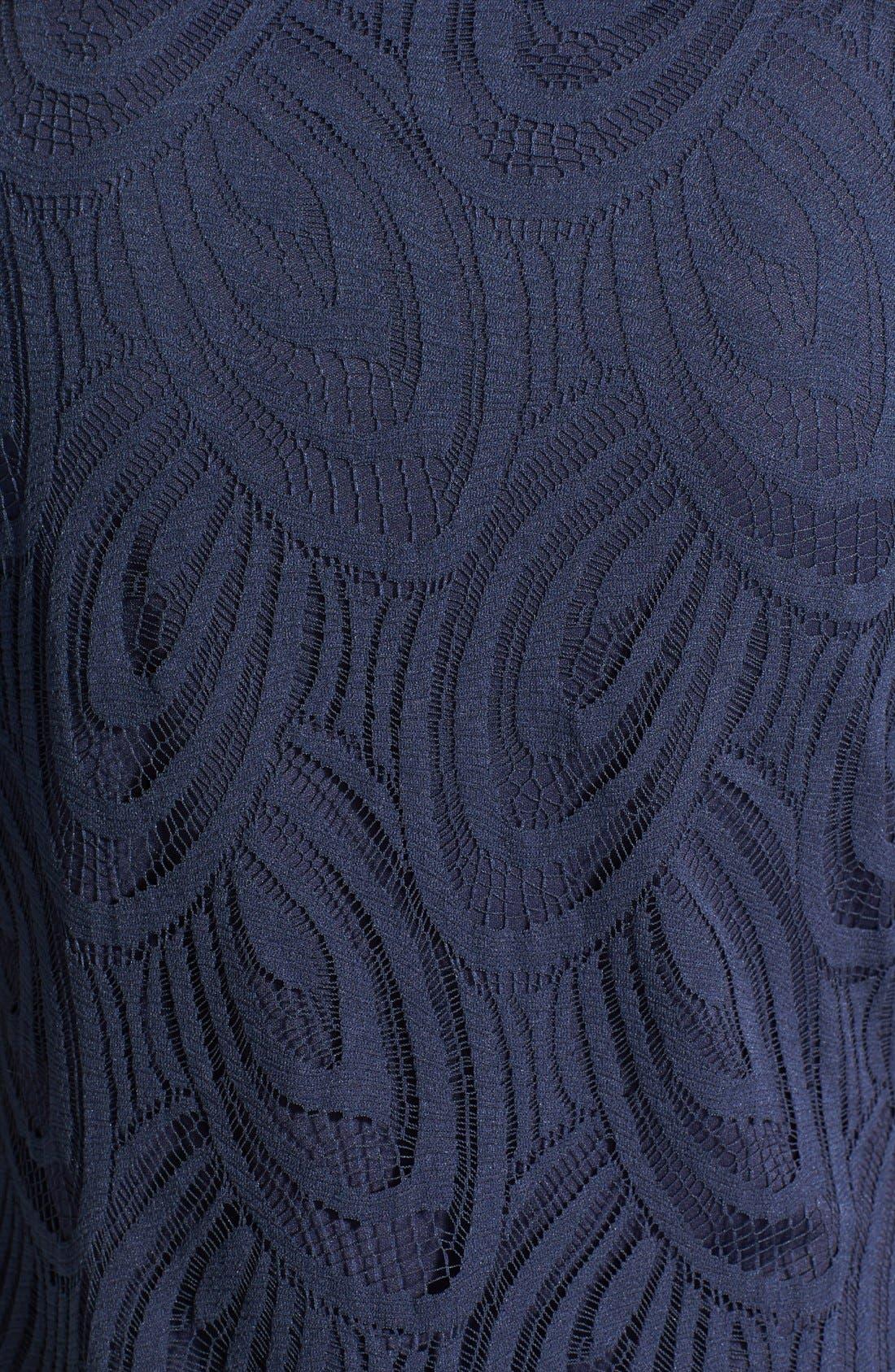 Alternate Image 3  - wallis Scallop Lace Shift Dress